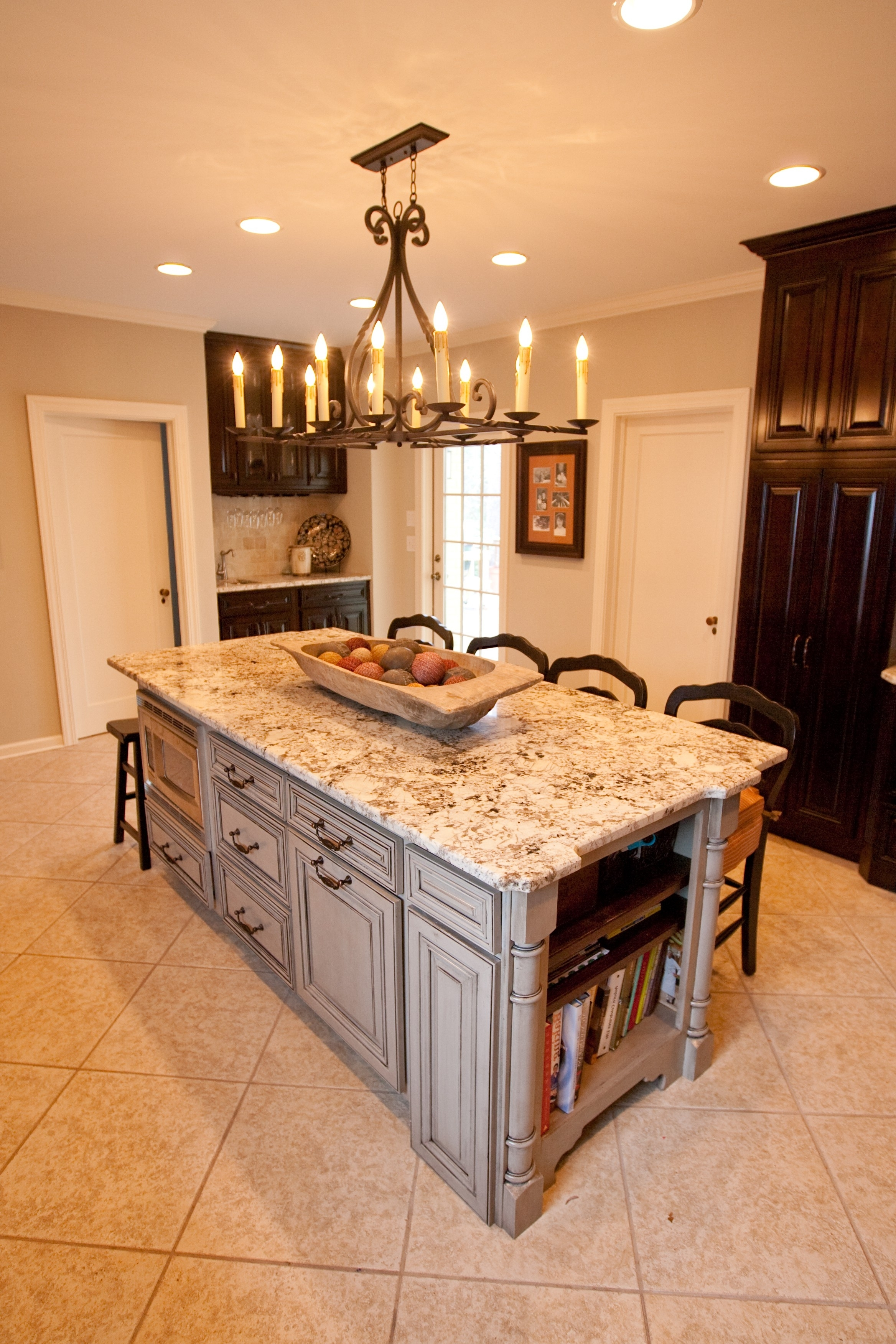 Beautiful Kitchen With Art Decor Wrought Iron And Kitchen For Well Known Small Rustic Kitchen Chandeliers (View 3 of 20)