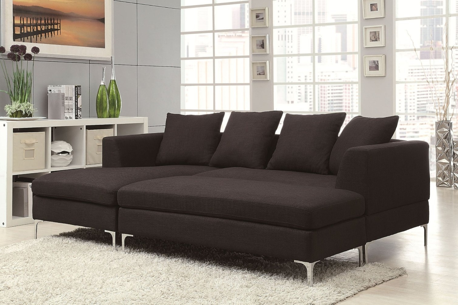 Beautiful Sectional Sofas With Chaise Lounge Gallery – Liltigertoo Inside Well Known Adjustable Sectional Sofas With Queen Bed (View 9 of 20)