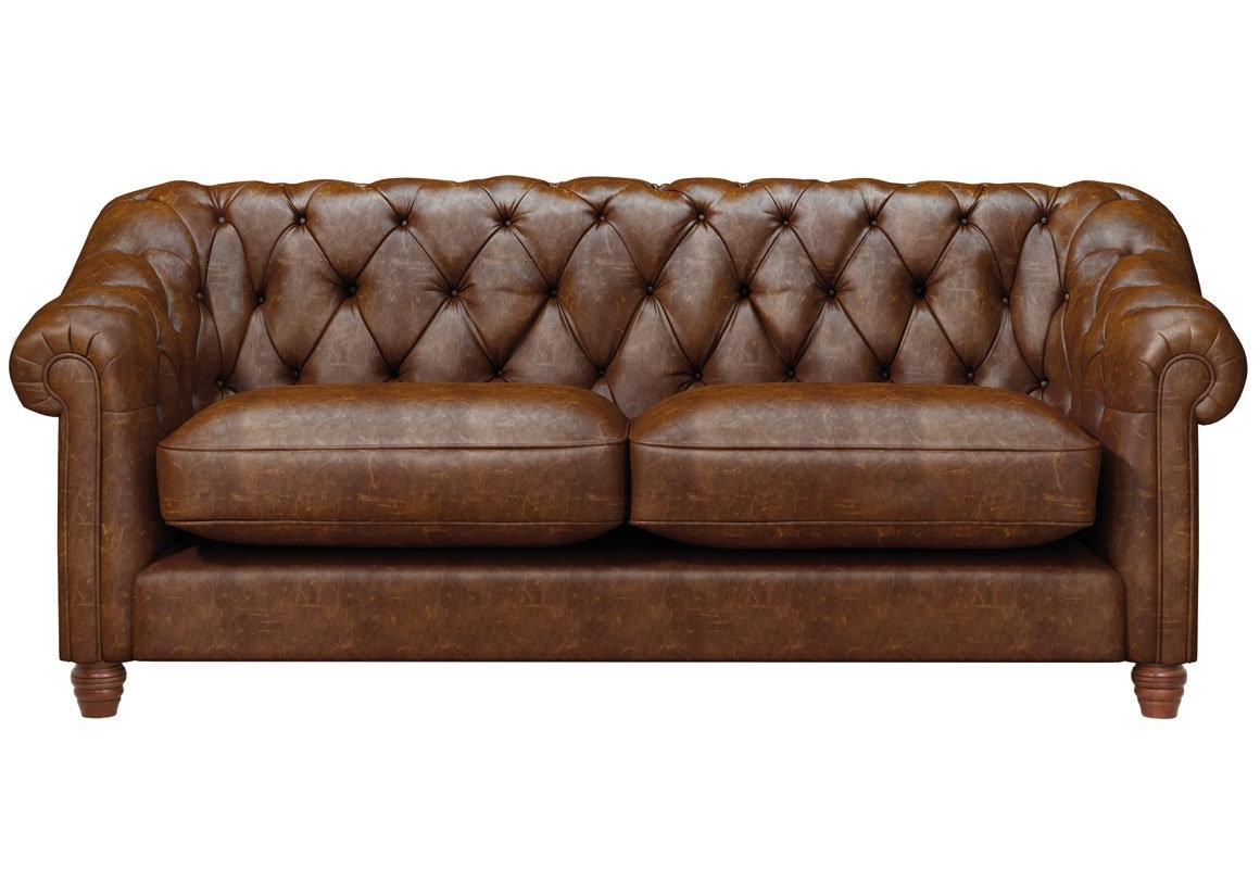 Belgravia 3 Seater Leather Sofa – Thomas Lloyd Regarding Widely Used 3 Seater Leather Sofas (View 5 of 20)