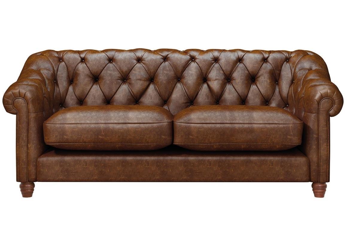Belgravia 3 Seater Leather Sofa – Thomas Lloyd Regarding Widely Used 3 Seater Leather Sofas (View 18 of 20)