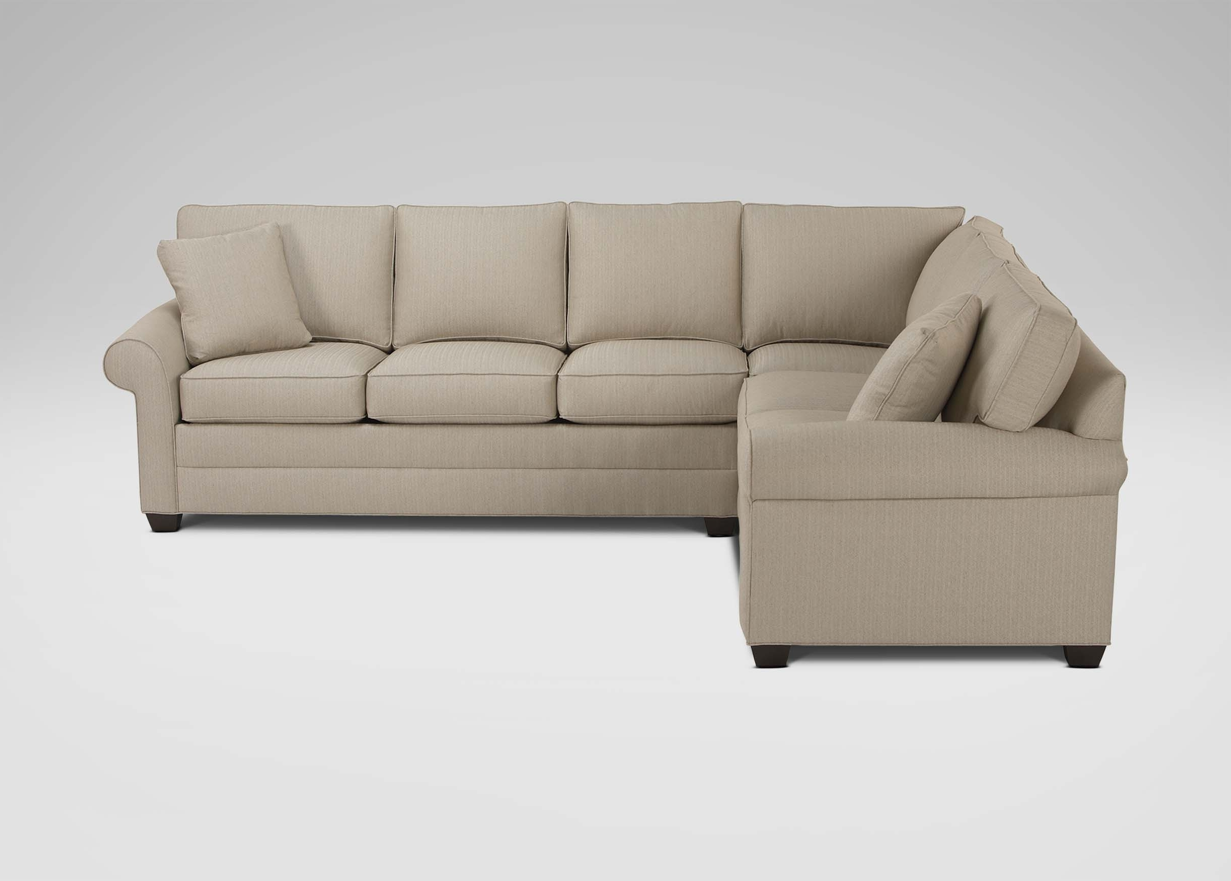 Bennett Roll Arm Sectional (View 3 of 20)