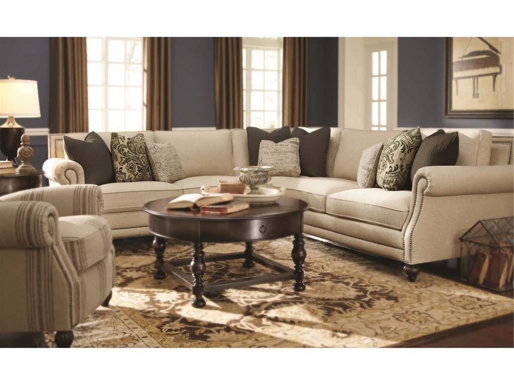 Bernhardt Living Room Brae Sectional 832270 – Furniture Fair Throughout Best And Newest Sectional Sofas In North Carolina (View 2 of 20)