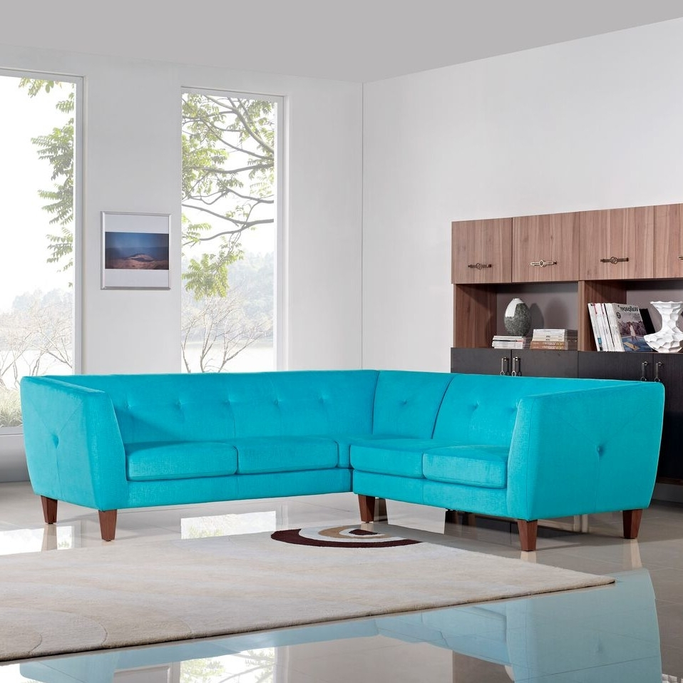 Best And Newest Aqua Sectional Sofa (View 9 of 20)