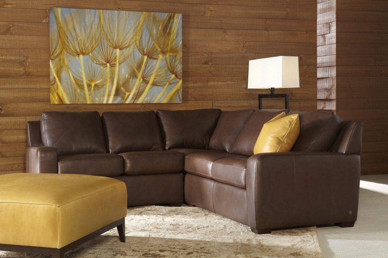 Best And Newest Beautiful Leather Sectional Sofas Made Usa (charming Leather Couch Intended For Made In Usa Sectional Sofas (View 19 of 20)