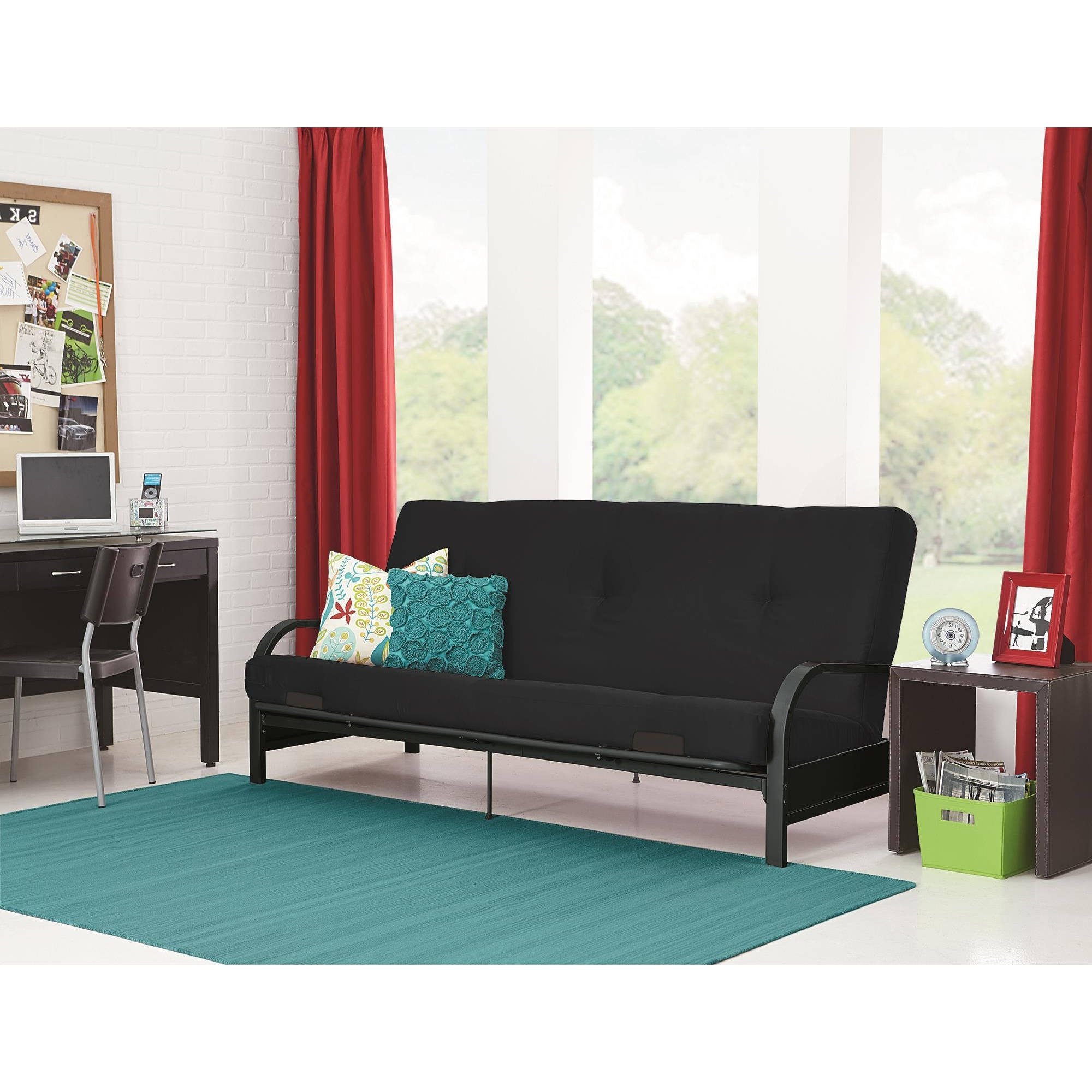 Best And Newest Bedroom Sofas And Chairs With Futons – Walmart (View 9 of 20)