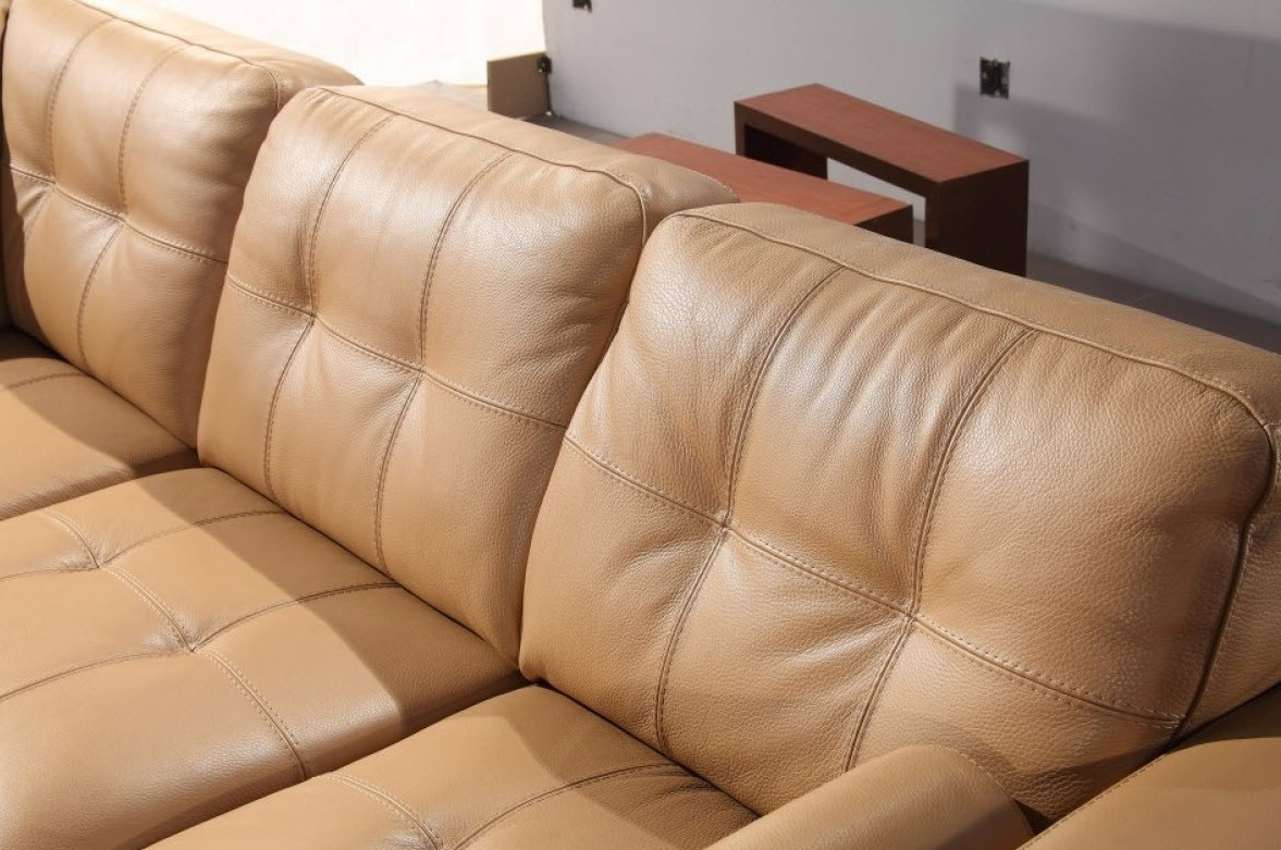 Best And Newest Camel Colored Sectional Sofas Inside Modern Home And Office Furniture Store Divani Casa 306ang Camel (View 16 of 20)