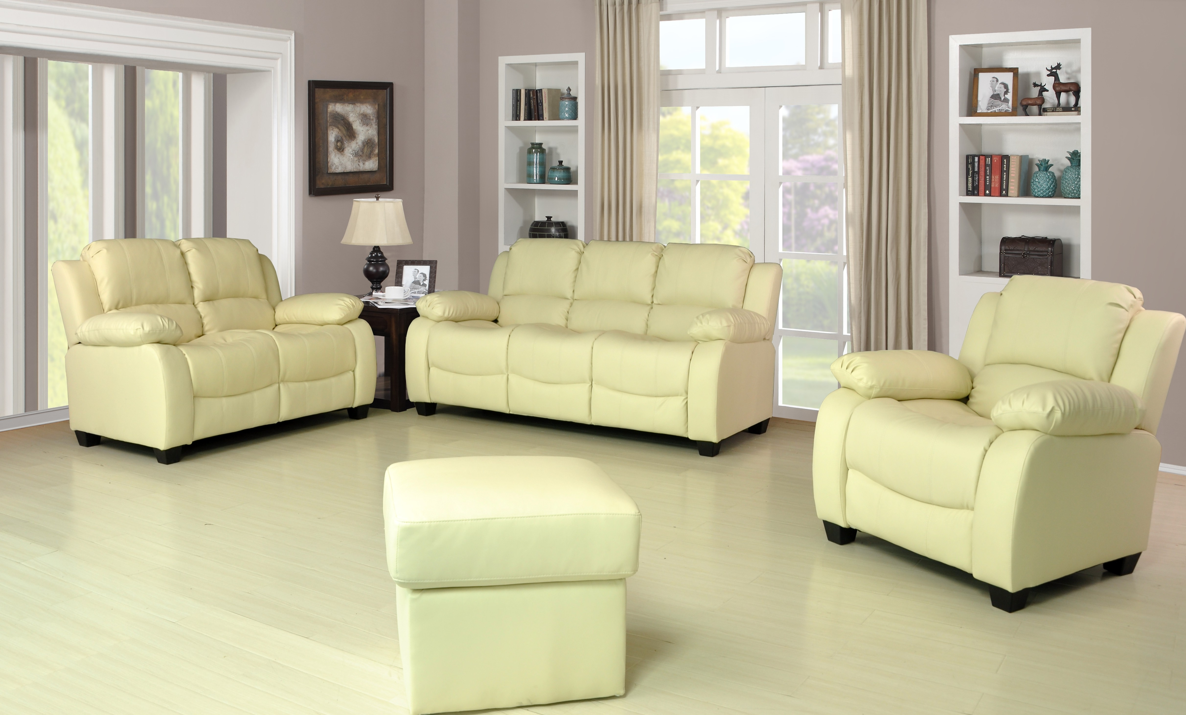 Best And Newest Cream Leather Sofa Set Great Aesthetic Brown Withed And Cushions Pertaining To Cream Colored Sofas (View 3 of 20)