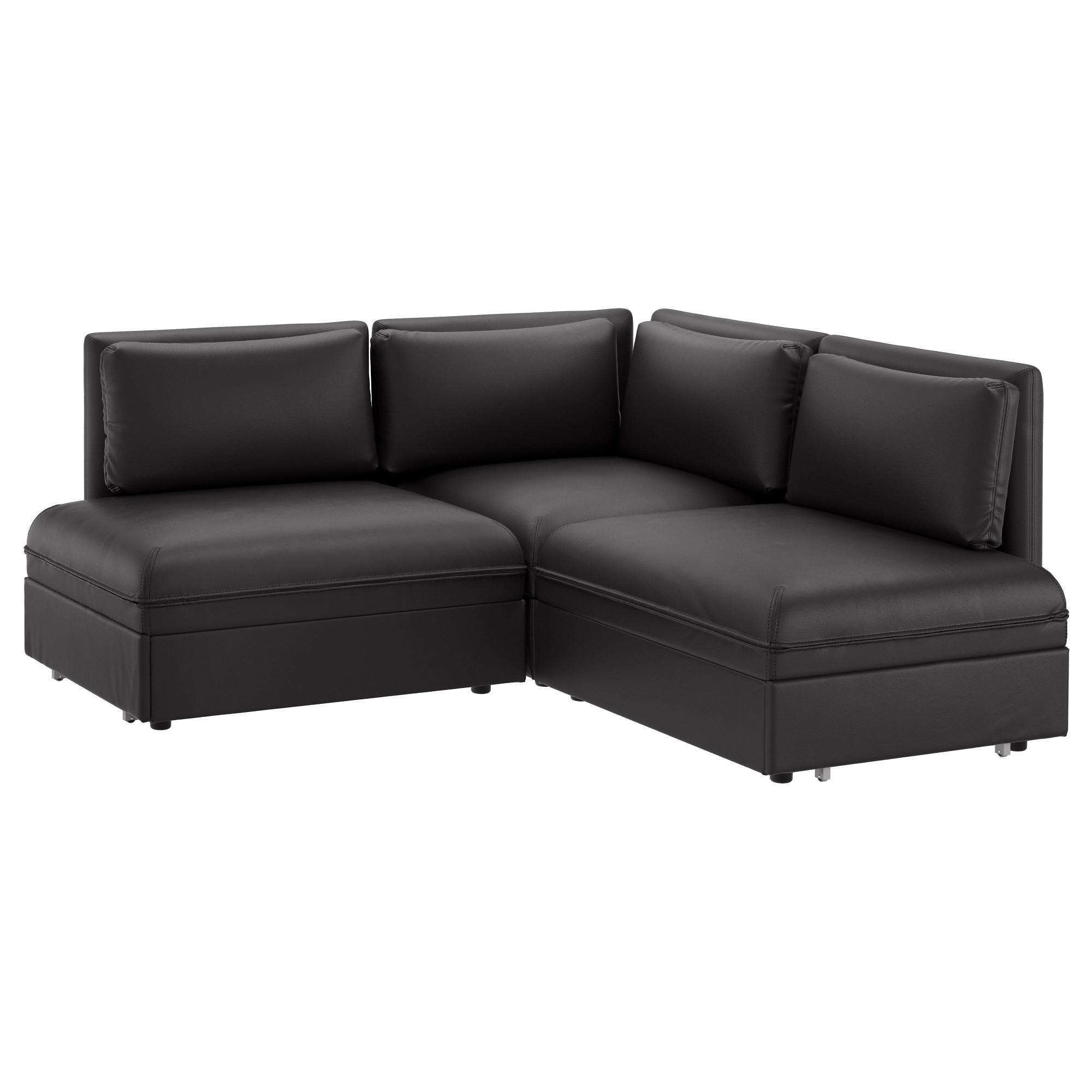 Best And Newest Durham Region Sectional Sofas Inside Vallentuna Sleeper Sectional, 2 Seat – Orrsta Beige – Ikea (View 3 of 20)