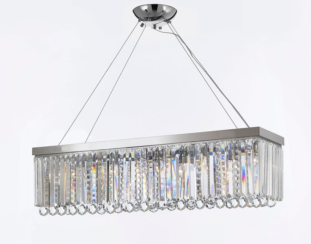 Best And Newest G902 B40/1120/10 Gallery Modern / Contemporary Chandelier Light W With Regard To Turquoise Crystal Chandelier Lights (View 3 of 20)
