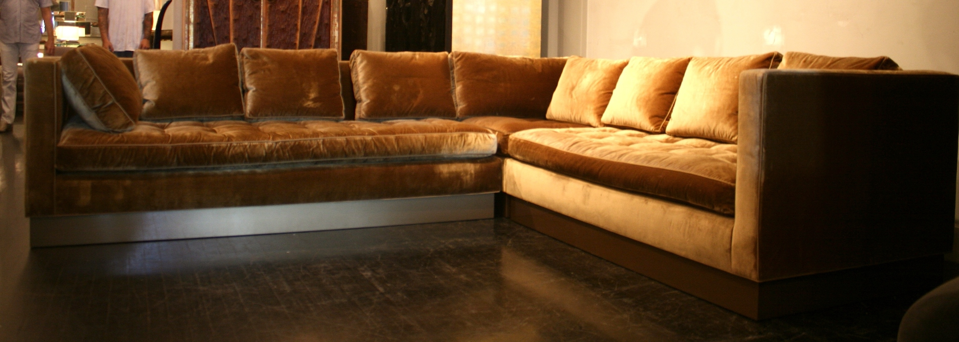 Best And Newest Gold Sectional Sofas Intended For Gold Sectional Sofa (View 7 of 20)