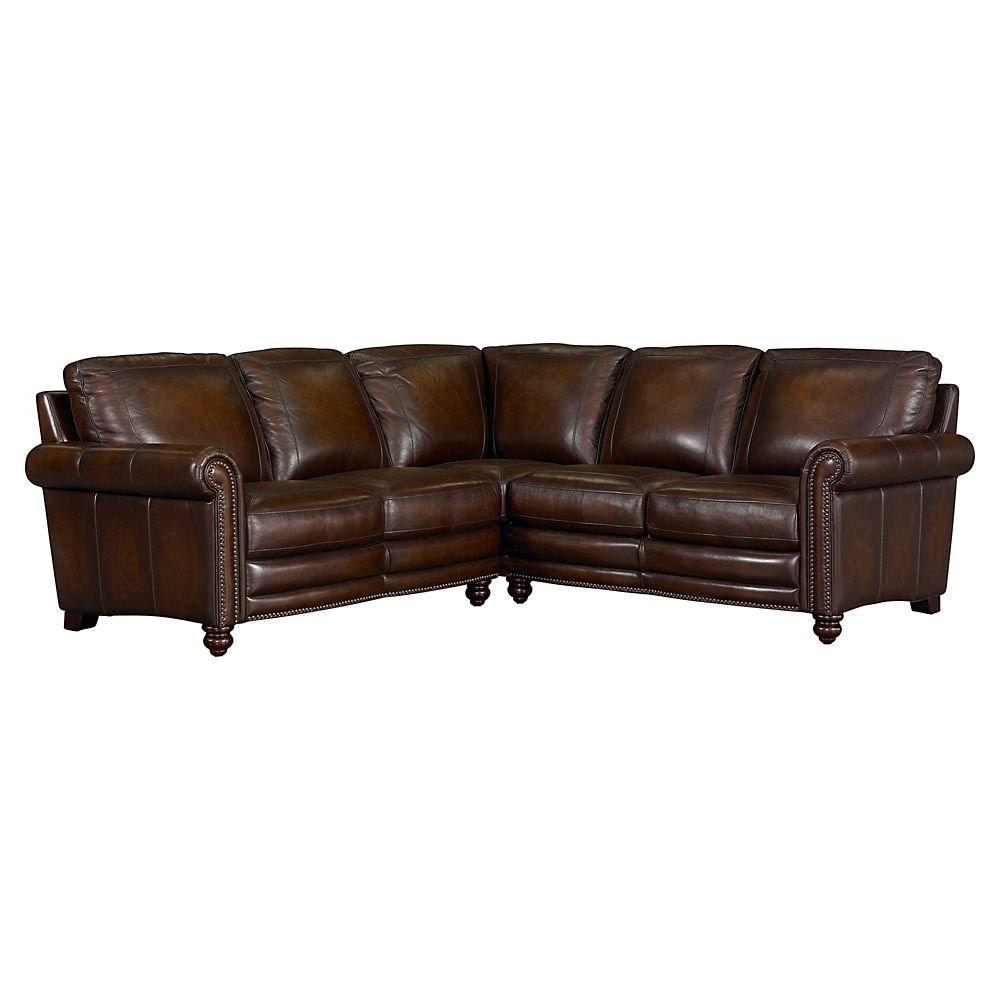 Best And Newest Hamilton Leather Sectional Sofabassett Furniture – Bassett For Hamilton Sectional Sofas (View 3 of 20)