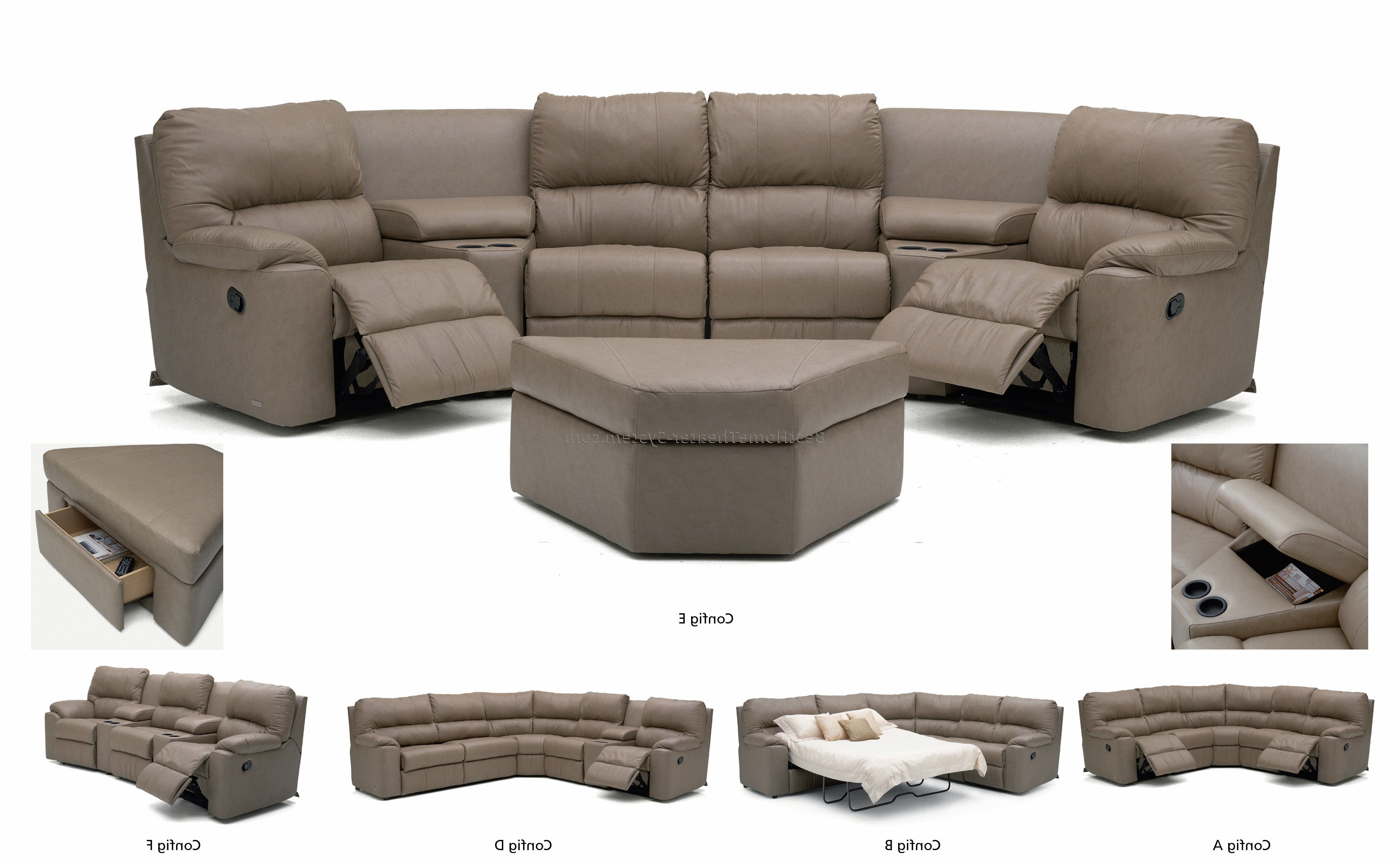 Best And Newest Home Theater Seating Sectionals  (View 8 of 20)