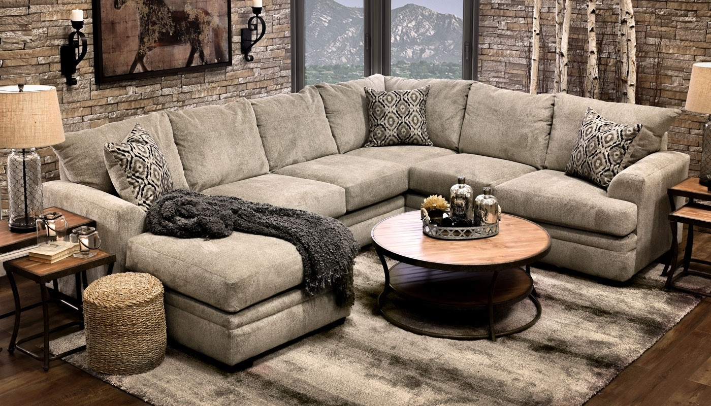 Best And Newest Home Zone Sectional Sofas Intended For Jillian Platinumshot Fabric Sectional Sofa Fantastic Home Zone (View 1 of 20)
