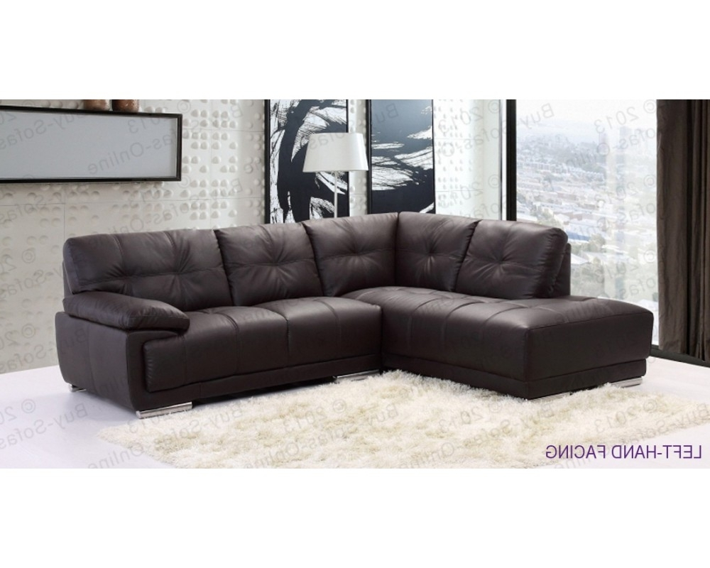 Best And Newest Leather Corner Sofas Pertaining To New Ideas Leather Corner Sofas With Corner Sofa Leather Brown (View 2 of 20)