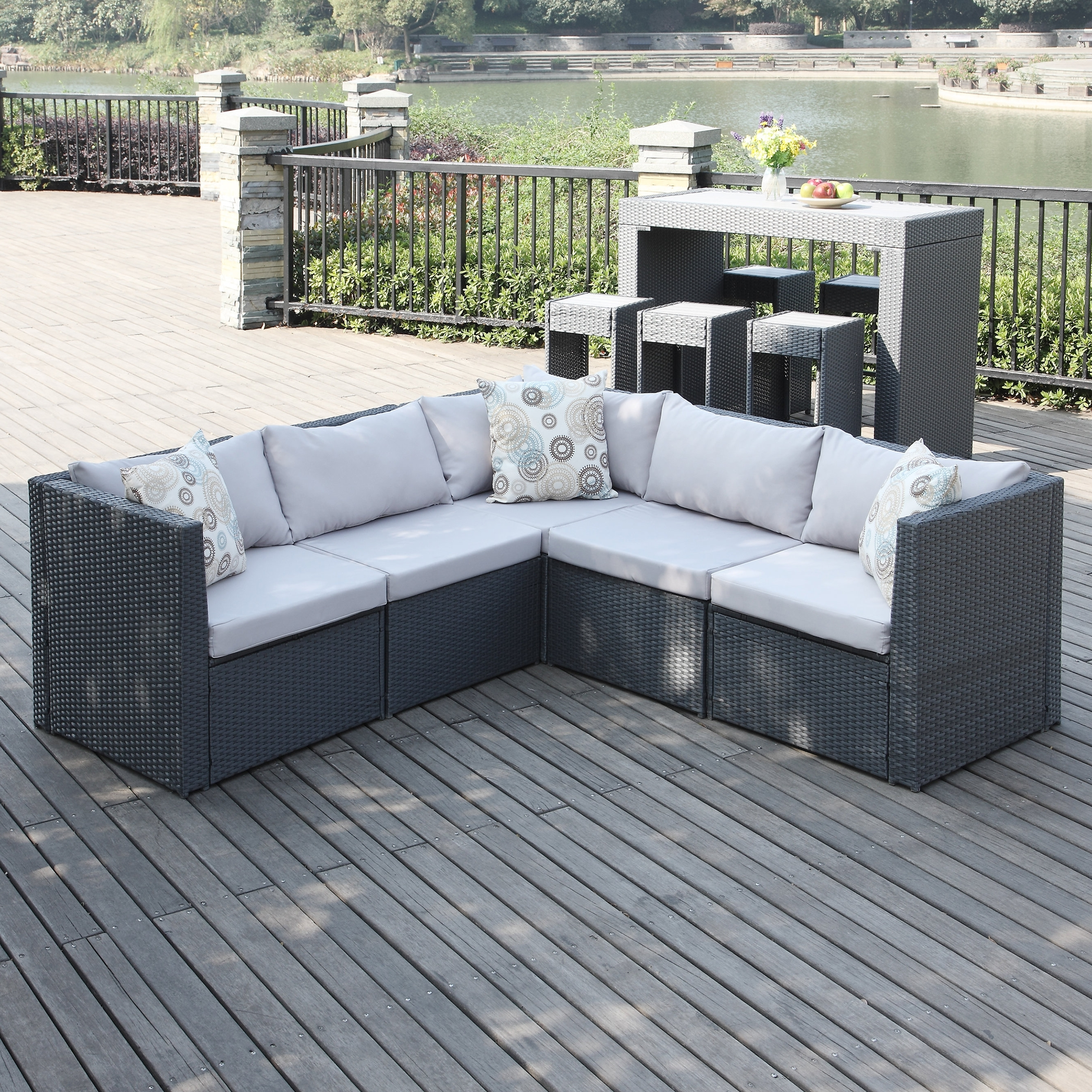 Best And Newest Patio Sofas For Wicker Patio Furniture You'll Love (View 1 of 20)