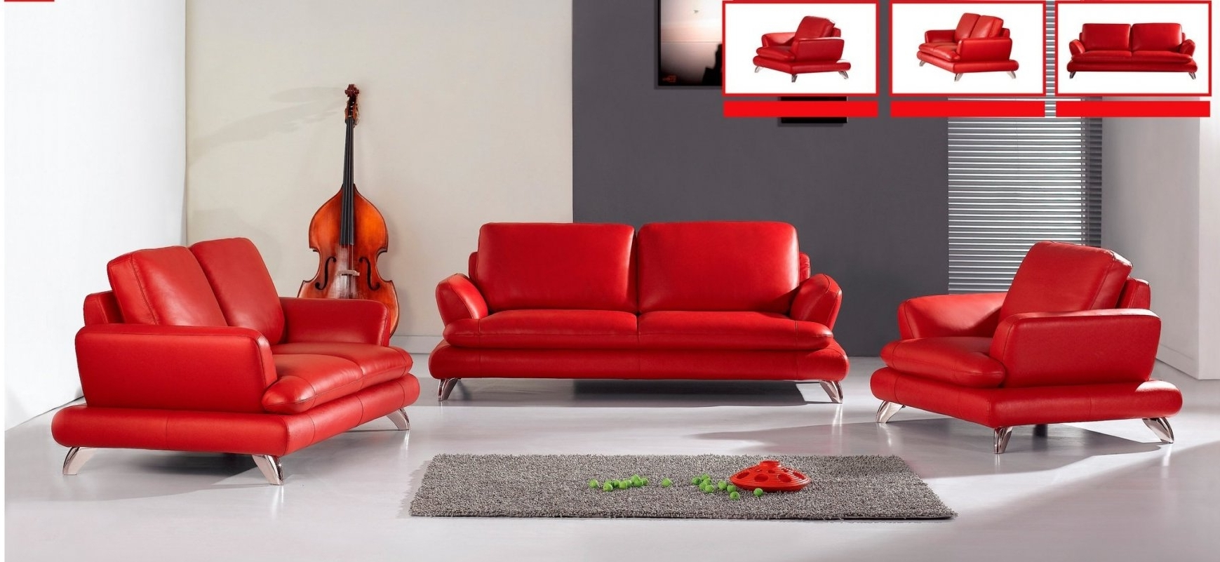 Best And Newest Red Leather Sofas Throughout Contemporary Red Leather Sofa 66 For Living Room Sofa Regarding (View 1 of 20)