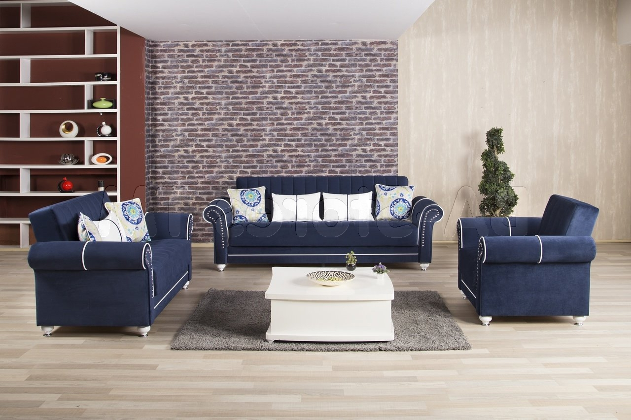 Best And Newest Royal Blue Sofa (View 4 of 20)