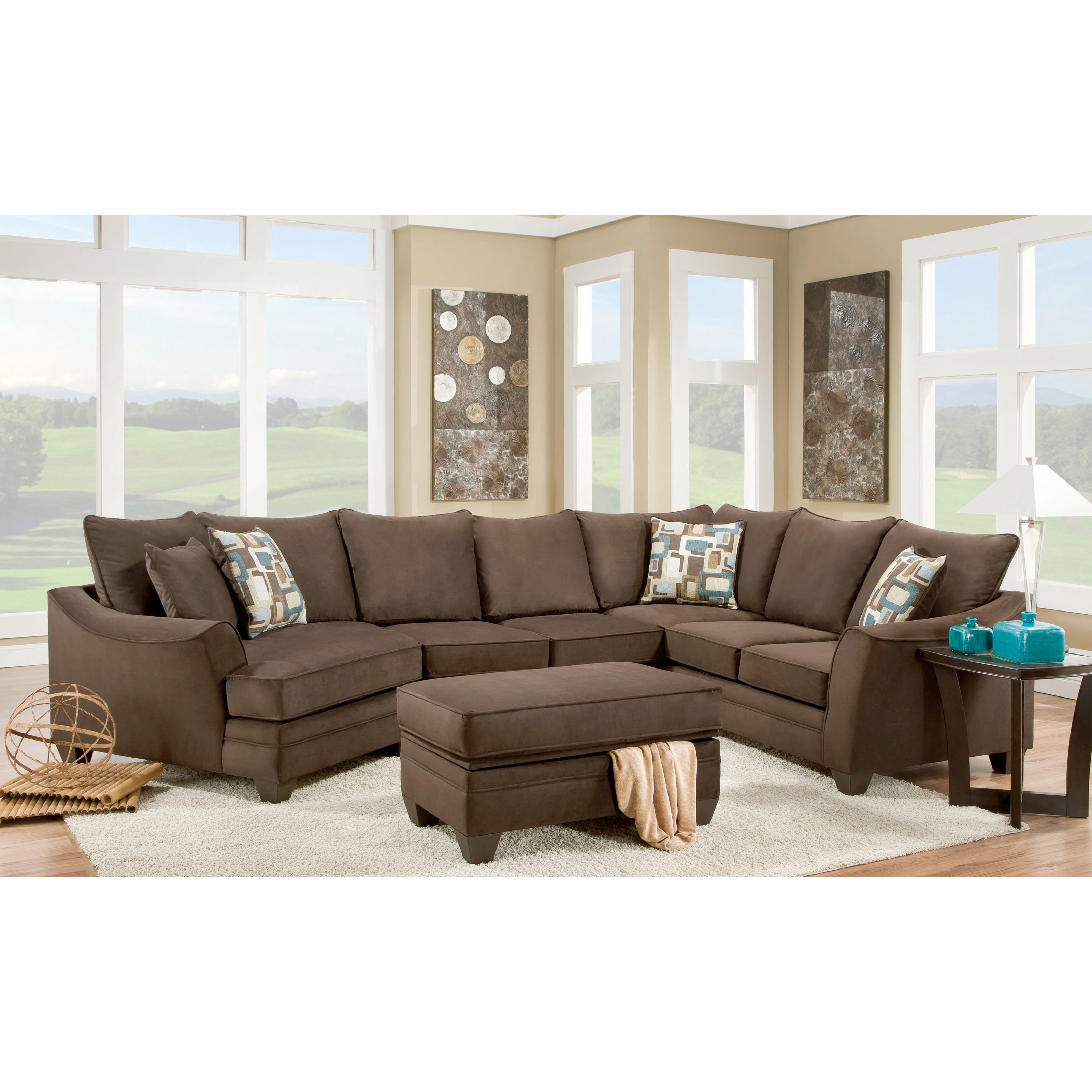 Featured Photo of Sectional Sofas In Greensboro Nc