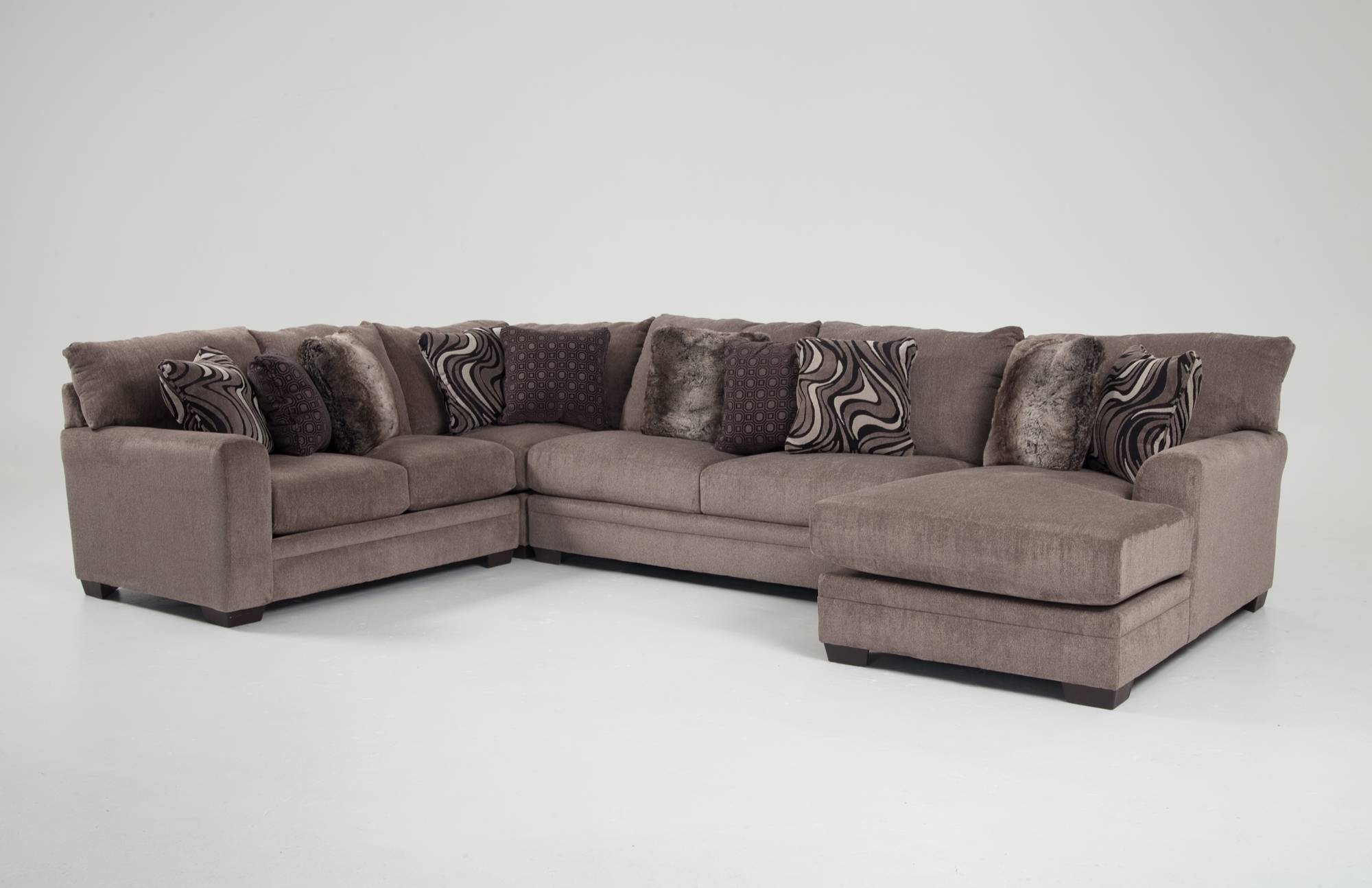 Best And Newest Sectional Sofas Under 700 Regarding Home Designs : Bobs Living Room Sets Ikea Leather Couch Bobs (View 4 of 20)