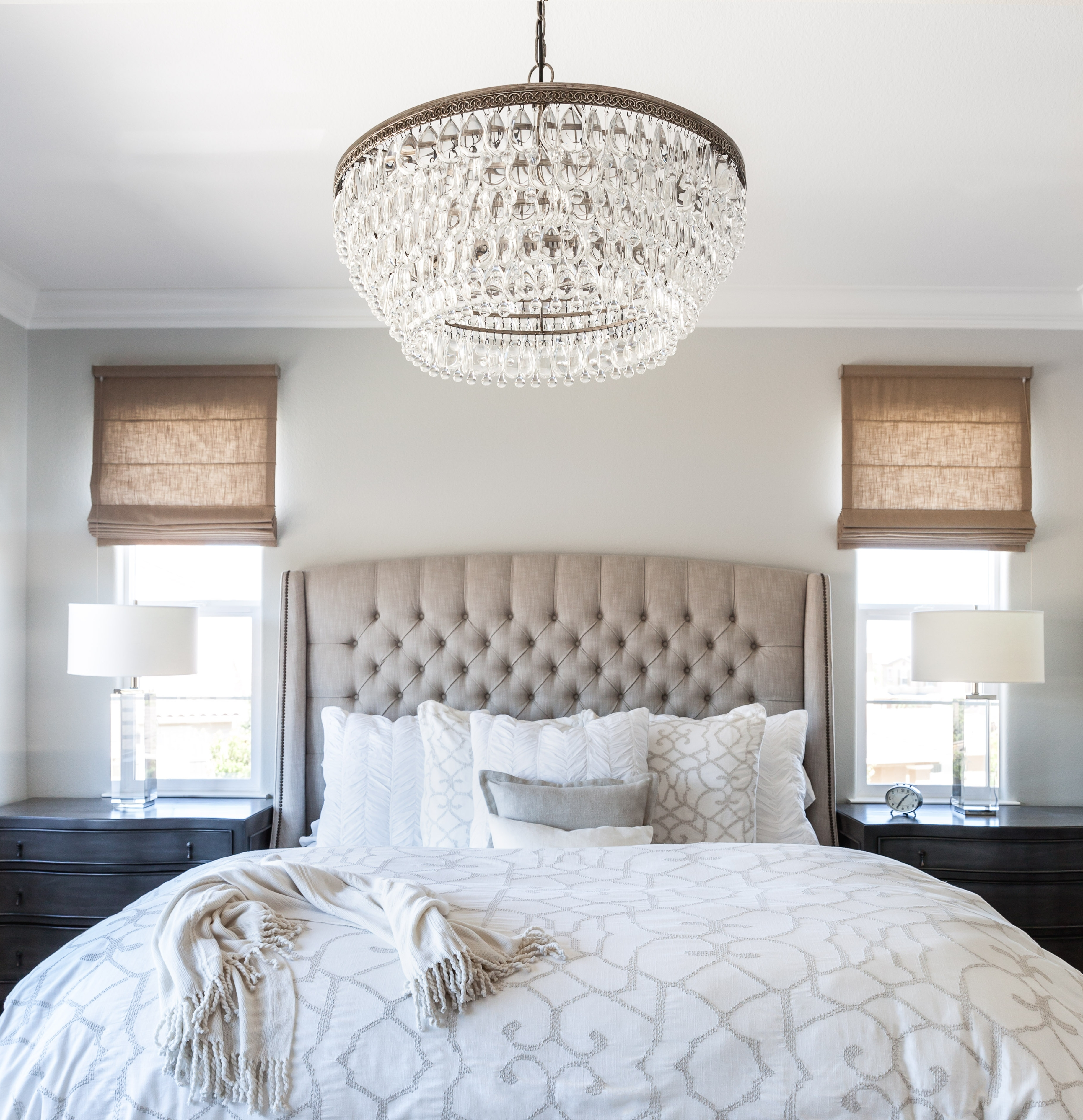 Best And Newest Small Glass Chandeliers Inside Chandeliers Design : Amazing Small Chandeliers For Bedroom (View 2 of 20)