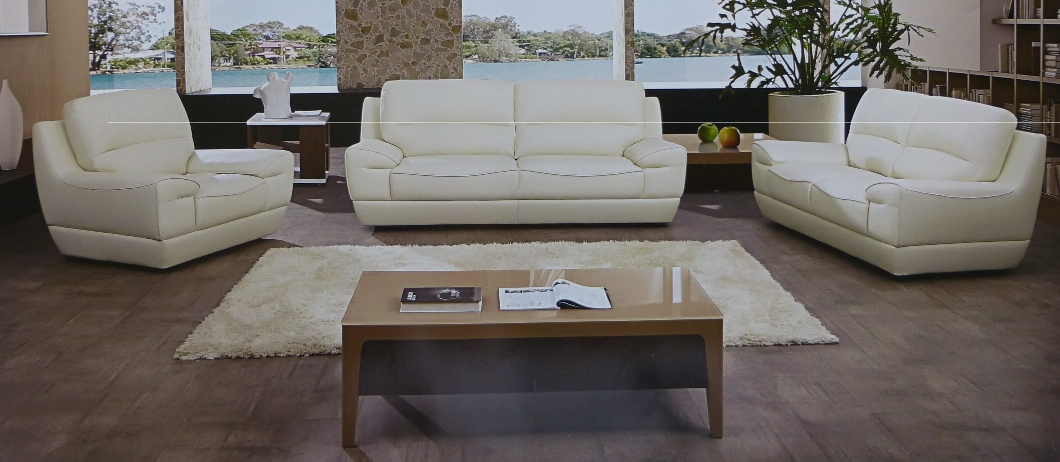 Best And Newest Sofa: Designs White Sofa And Loveseat White Fabric Sofa, White Inside Off White Leather Sofas (View 5 of 20)