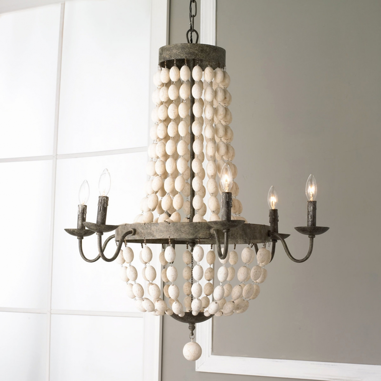 Best And Newest Turquoise Wood Bead Chandeliers With Regard To Lighting ~ Chandeliers ~ Turquoise Beaded Chandelier Light Fixture (View 7 of 20)
