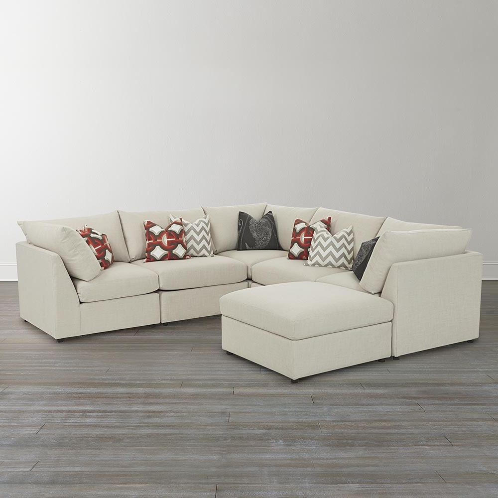 Best And Newest U Shaped Sectionals With Regard To U Shaped Sectional Sofa With Ottomans — Fabrizio Design (View 18 of 20)