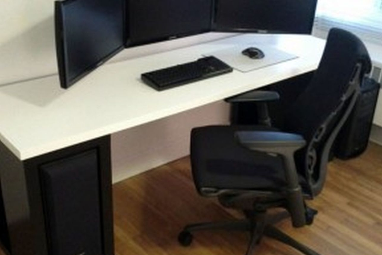 Best And Newest Unique Computer Desks Regarding Unique Computer Desks Surripuinet – Sustainable Pals (View 4 of 20)