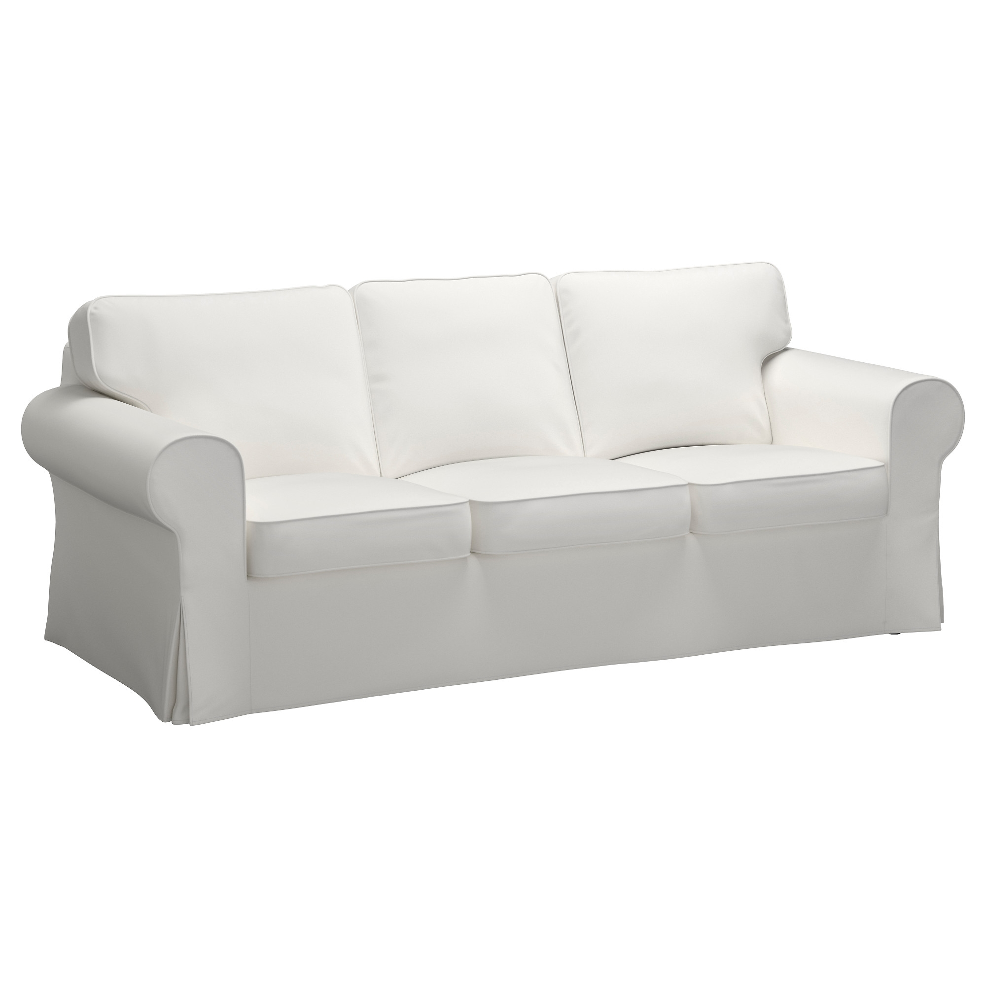 Best And Newest White Sofa Chairs Throughout Ektorp Sofa – Vittaryd White – Ikea (View 3 of 20)