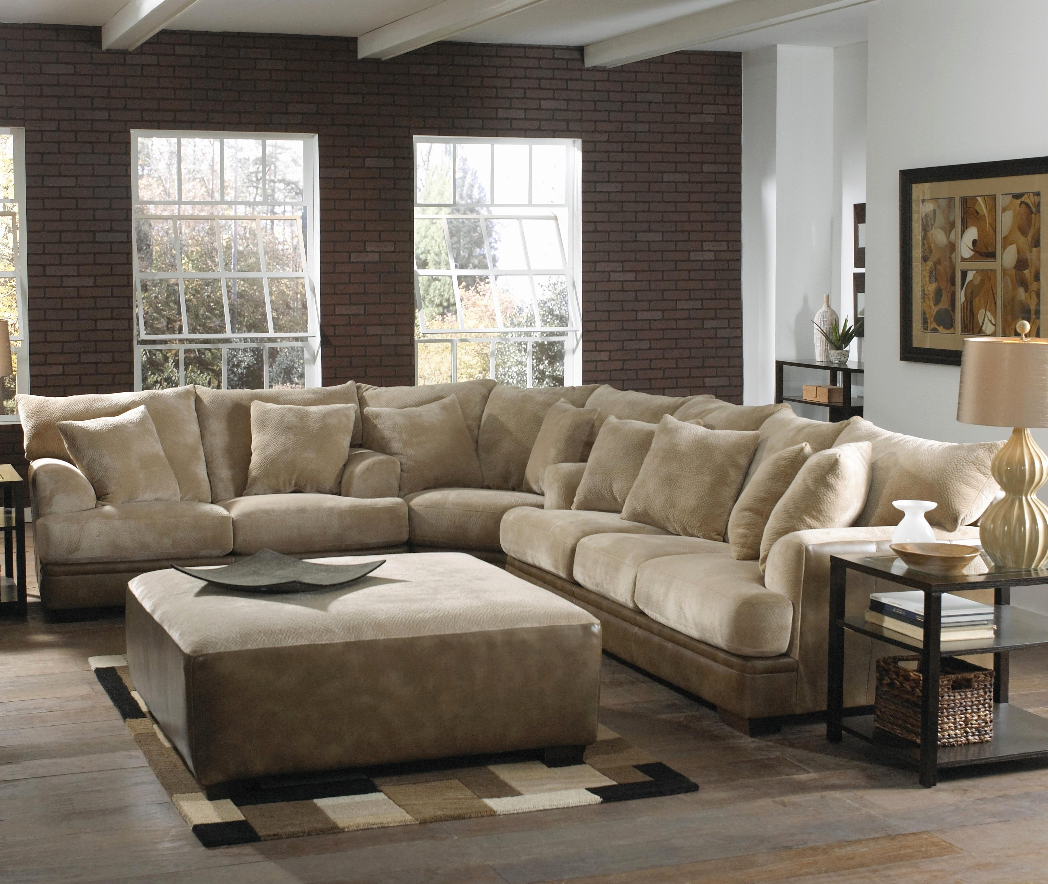 Best And Newest Wide Sectional Sofas In Fresh Sectional Sofa With Extra Wide Chaise 2018 – Couches Ideas (Gallery 11 of 20)