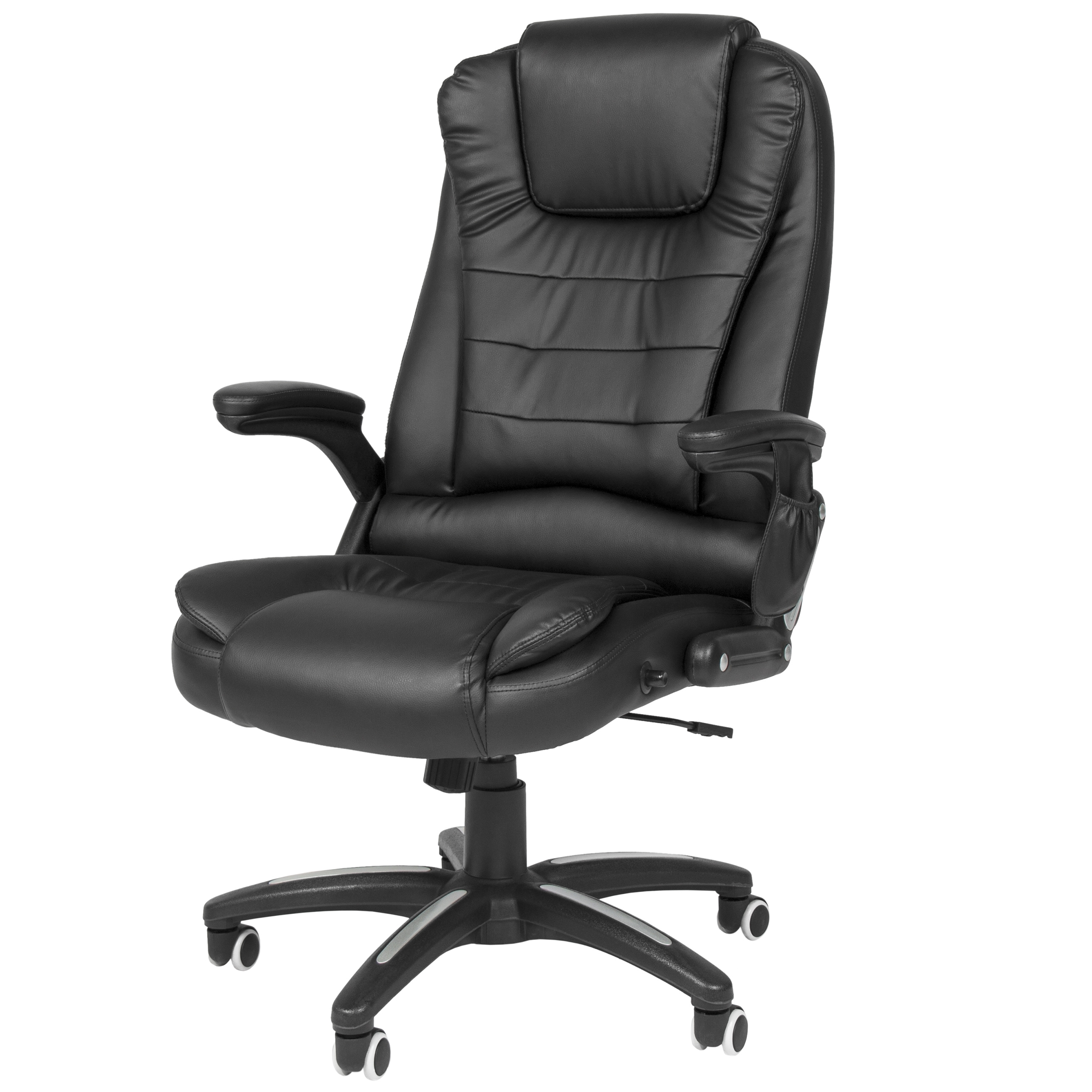 Best Choice Products Executive Ergonomic Heated Vibrating Computer Intended For Newest Leather Executive Office Massage Chairs (View 3 of 20)