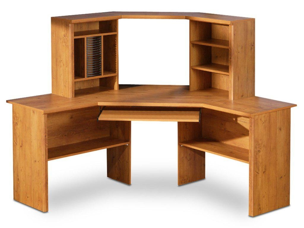 Best Corner Wood Desk Dwight Designs (View 5 of 20)