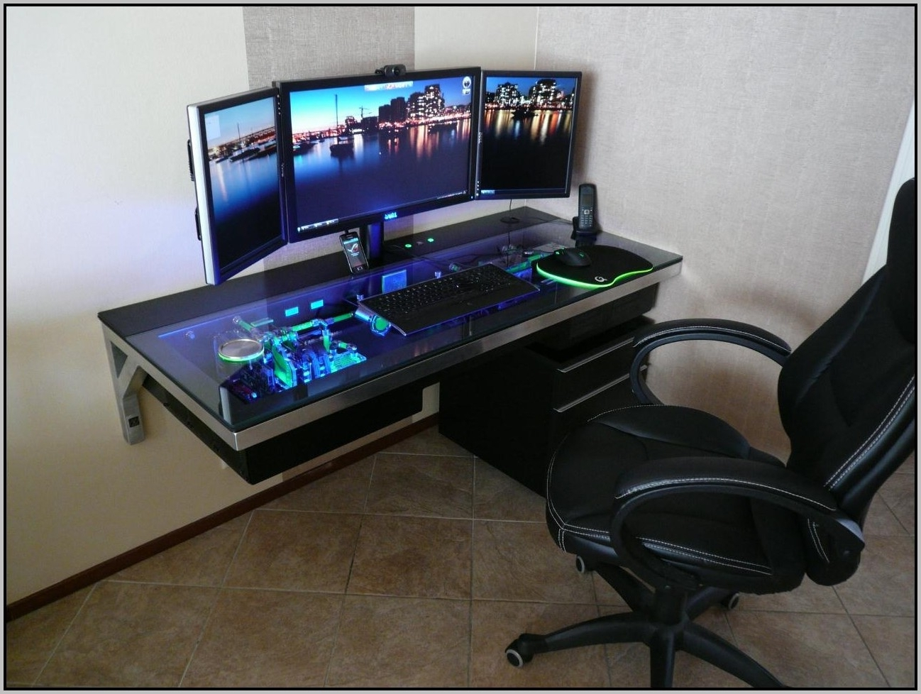 Best Gaming Desks 2015 – Desk : Home Furniture Design With Regard To Most Current Computer Gaming Desks For Home (View 2 of 20)