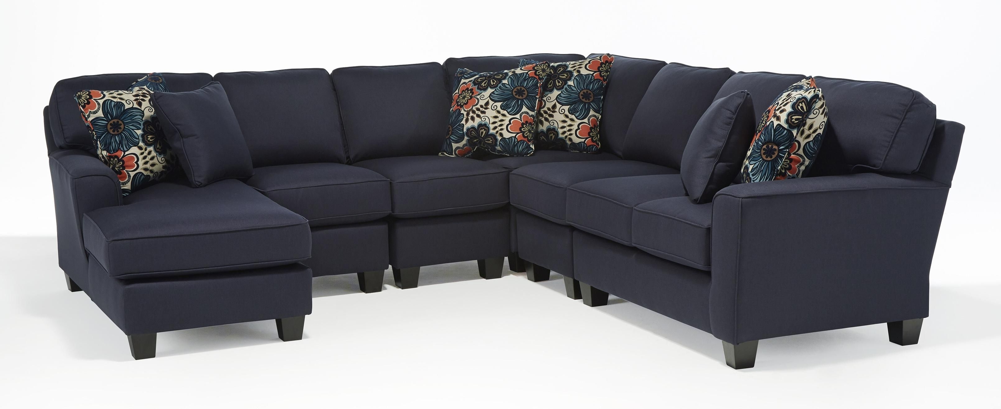 Best Home Furnishings Annabel Five Piece Customizable Sectional Inside Most Recently Released Home Furniture Sectional Sofas (View 3 of 20)