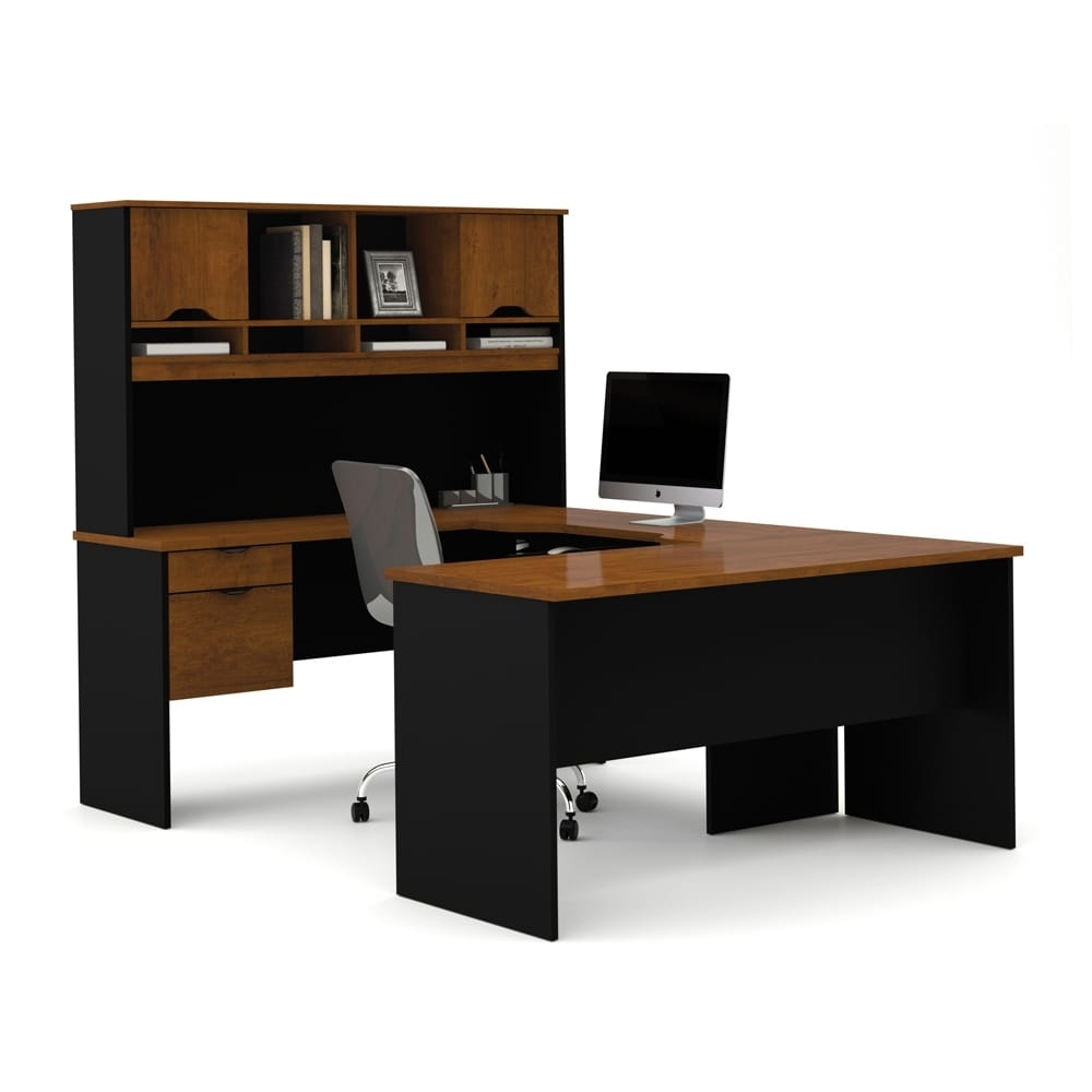 Bestar Innova U Shaped Workstation Desk – Free Shipping Today With Popular U Shaped Computer Desks (View 6 of 20)