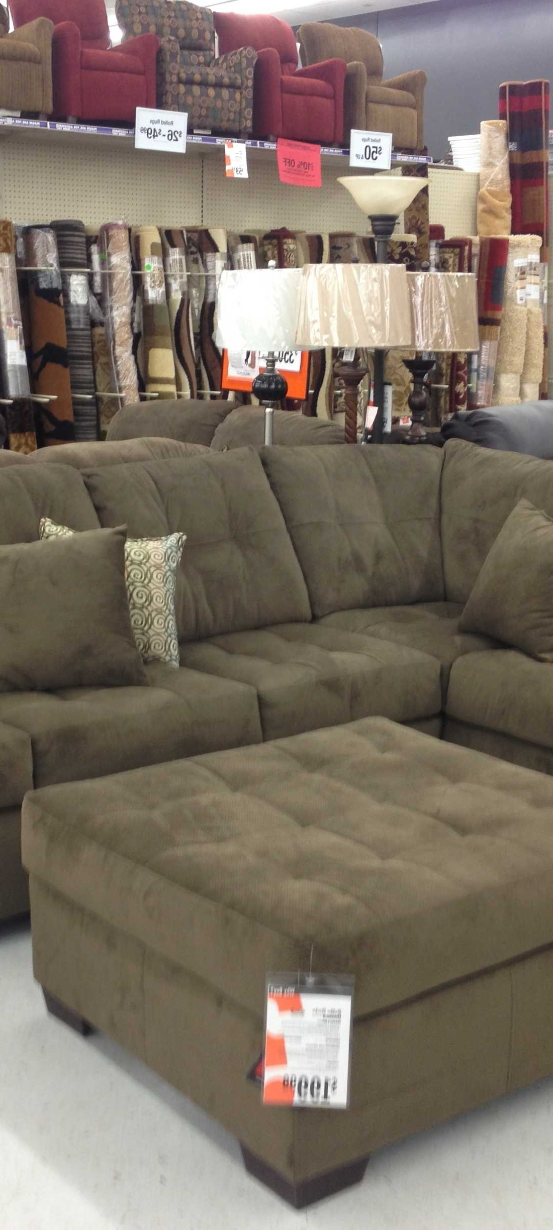 Big Lots Sofas For Famous Sofa : Mocha Sectional Sofa Big Lots Manhattan Sectional Sofa Big (View 16 of 20)
