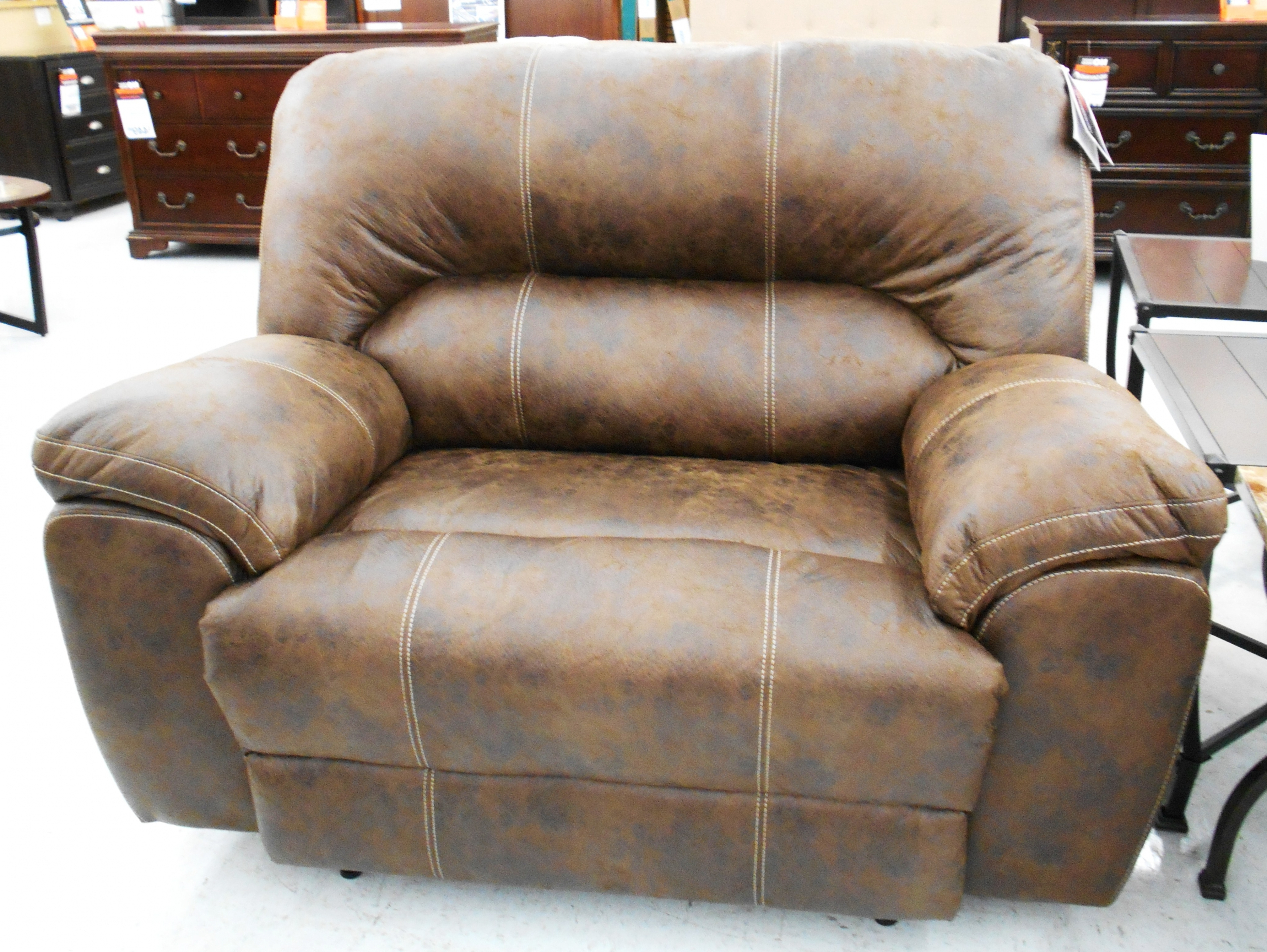 Big Lots Sofas For Popular Furniture: Stratolounger Stallion Snuggle Up Recliner $ (View 10 of 20)
