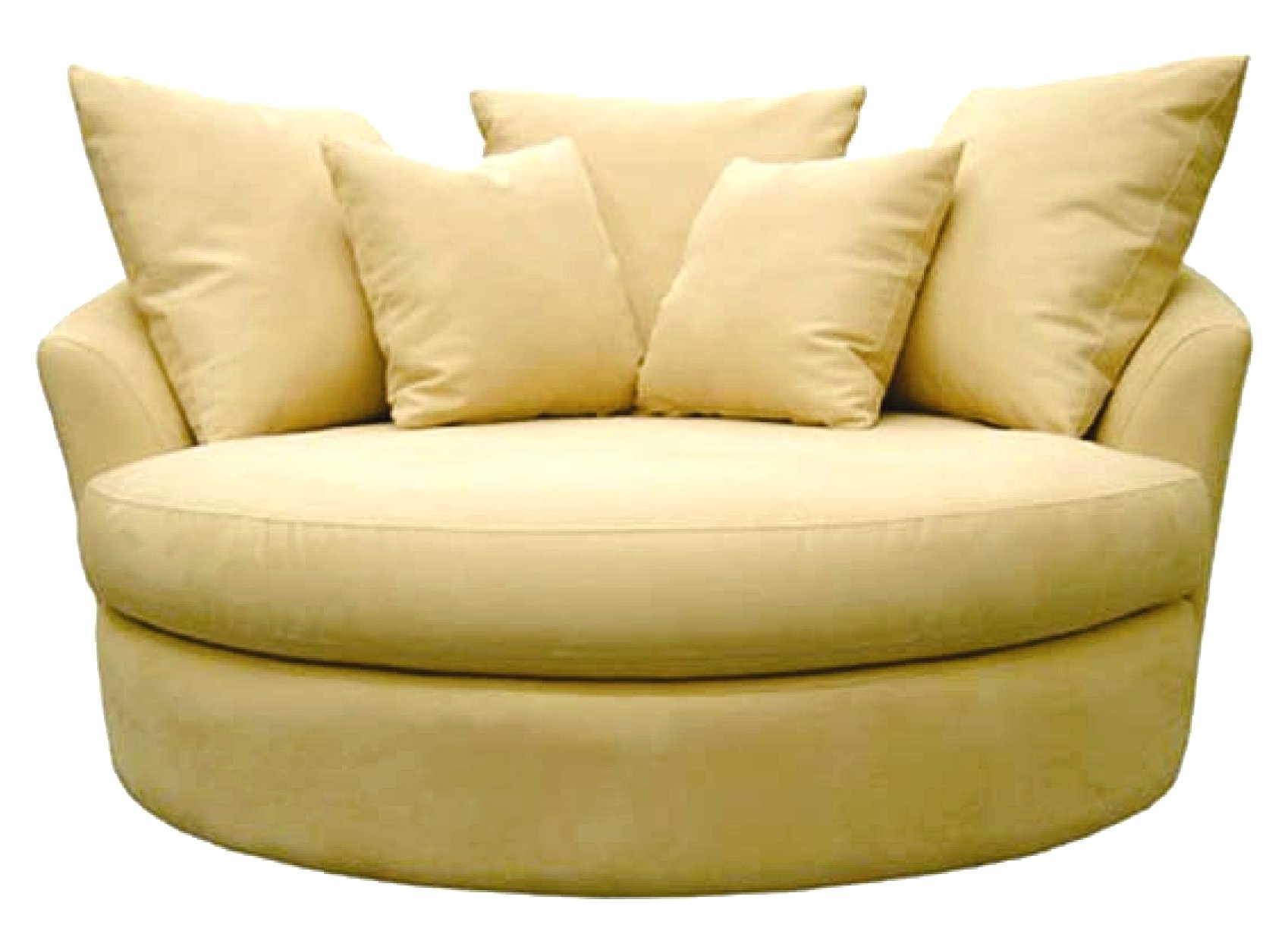 Big Round Sofa Chairs With 2019 Sofa : Round Sofa Chair Australia Round Sofa Chair Nz Big Round (View 4 of 20)