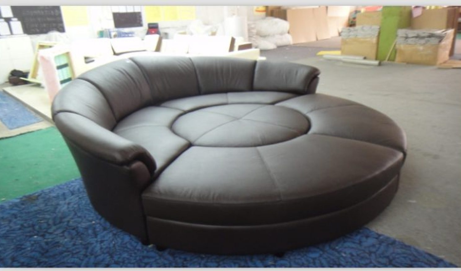 Big Round Sofa Chairs With Regard To Well Liked Sofa : Sofa Cute Big Chairs Stunning Circular Chair Explore Round (View 5 of 20)