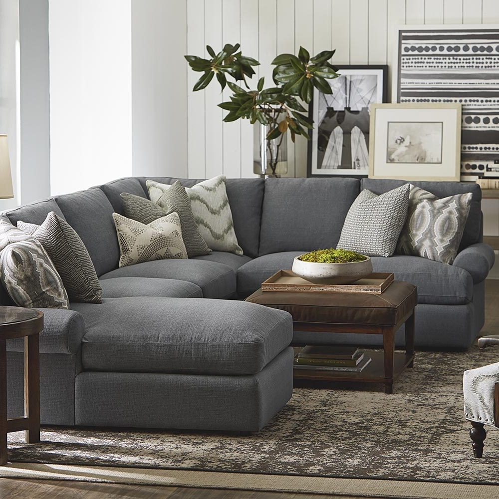 Big U Shaped Couches Throughout Best And Newest Sectional Sofa : Flexsteel Sectional Sofa Big Leather Sectional (View 6 of 20)
