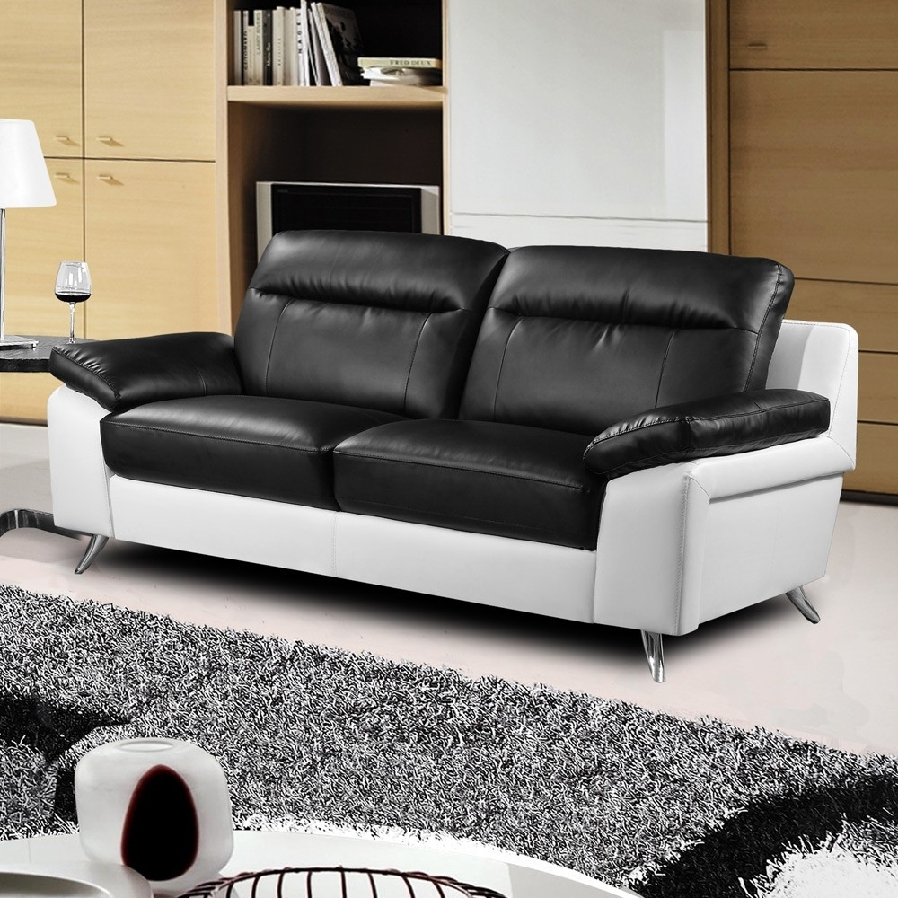 Black And White Sofas – Visionexchange (View 1 of 20)
