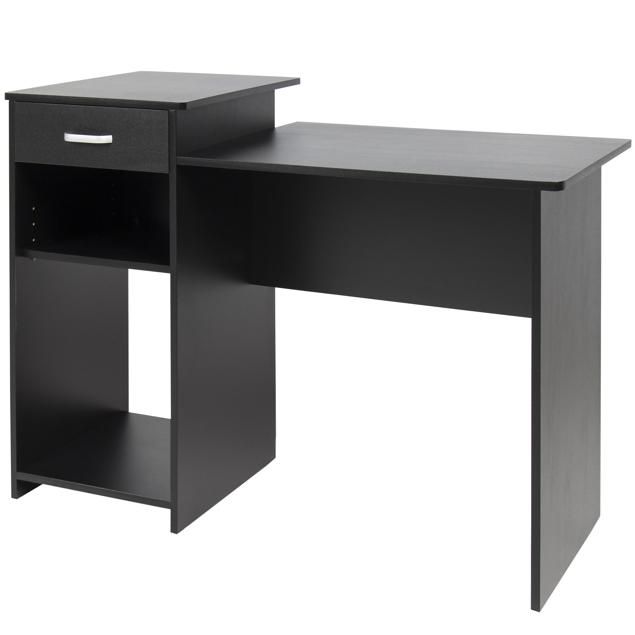 Black Computer Desks Regarding Most Up To Date Best Choice Products Student Computer Desk Home Office Wood Laptop (View 6 of 20)