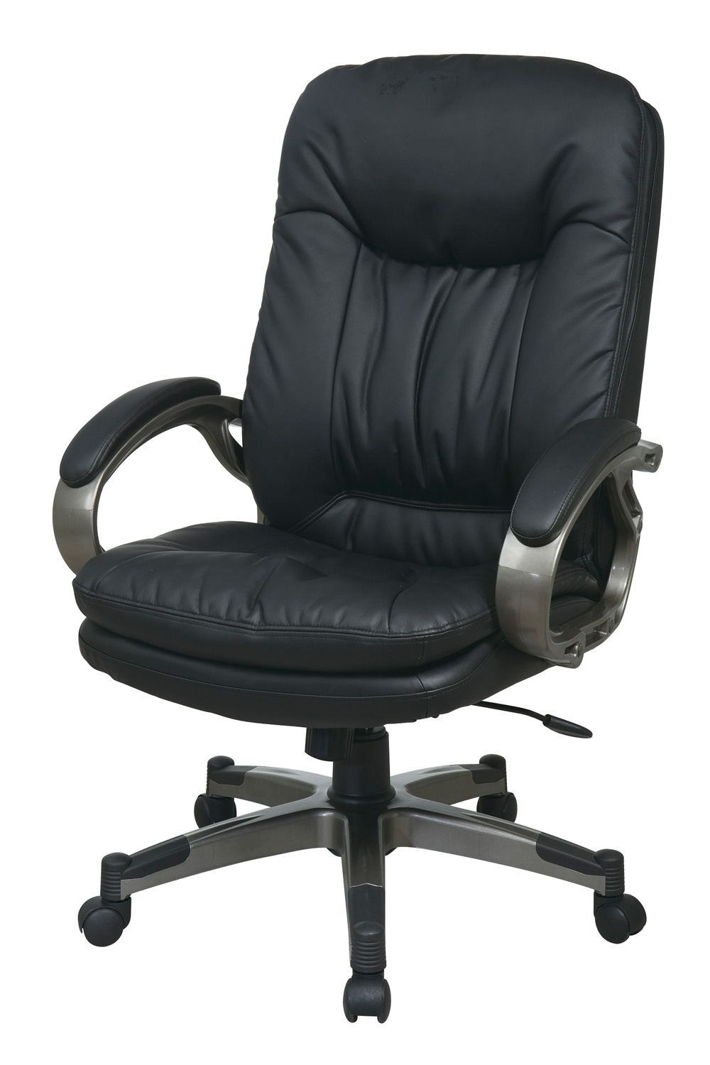 Black Executive Office Chairs With High Back With Regard To Most Recently Released Ech83507 Ec3 Office Star – Executive Black Eco Leather High Back (View 7 of 20)