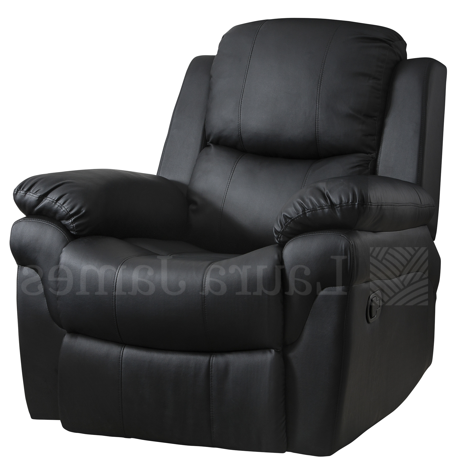 Black Leather Couch Set Tags : Black Leather Arm Chair Leather For Trendy Gaming Sofa Chairs (View 2 of 20)