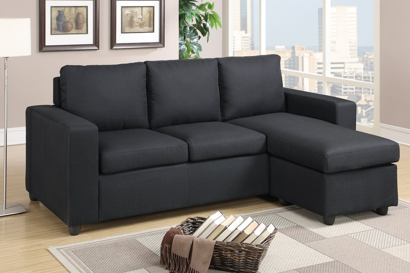 Black Sectional Sofas In Well Known Black Leather Reclining Sectional — Radionigerialagos (View 5 of 20)