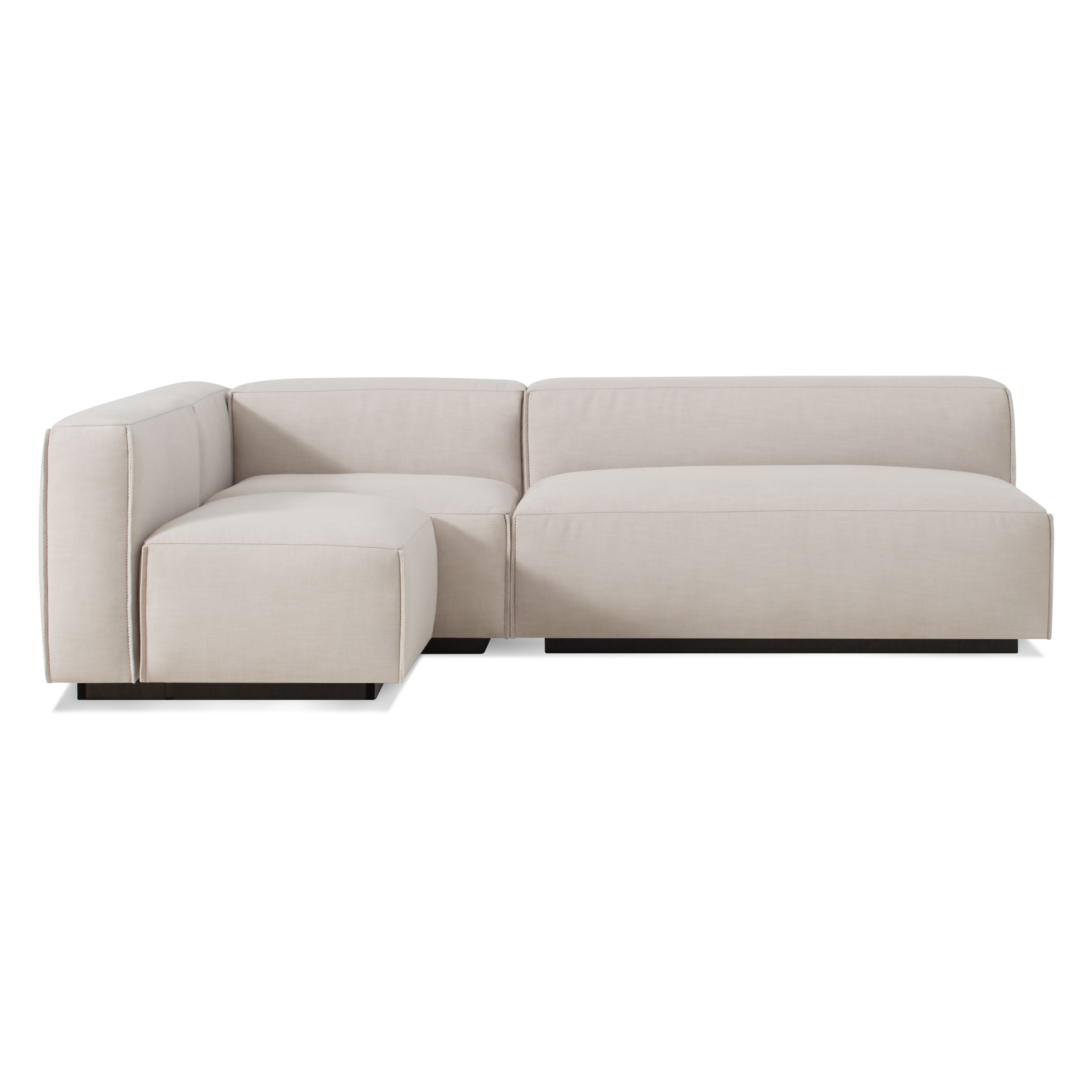 Blu Dot Pertaining To Armless Sectional Sofas (View 4 of 20)