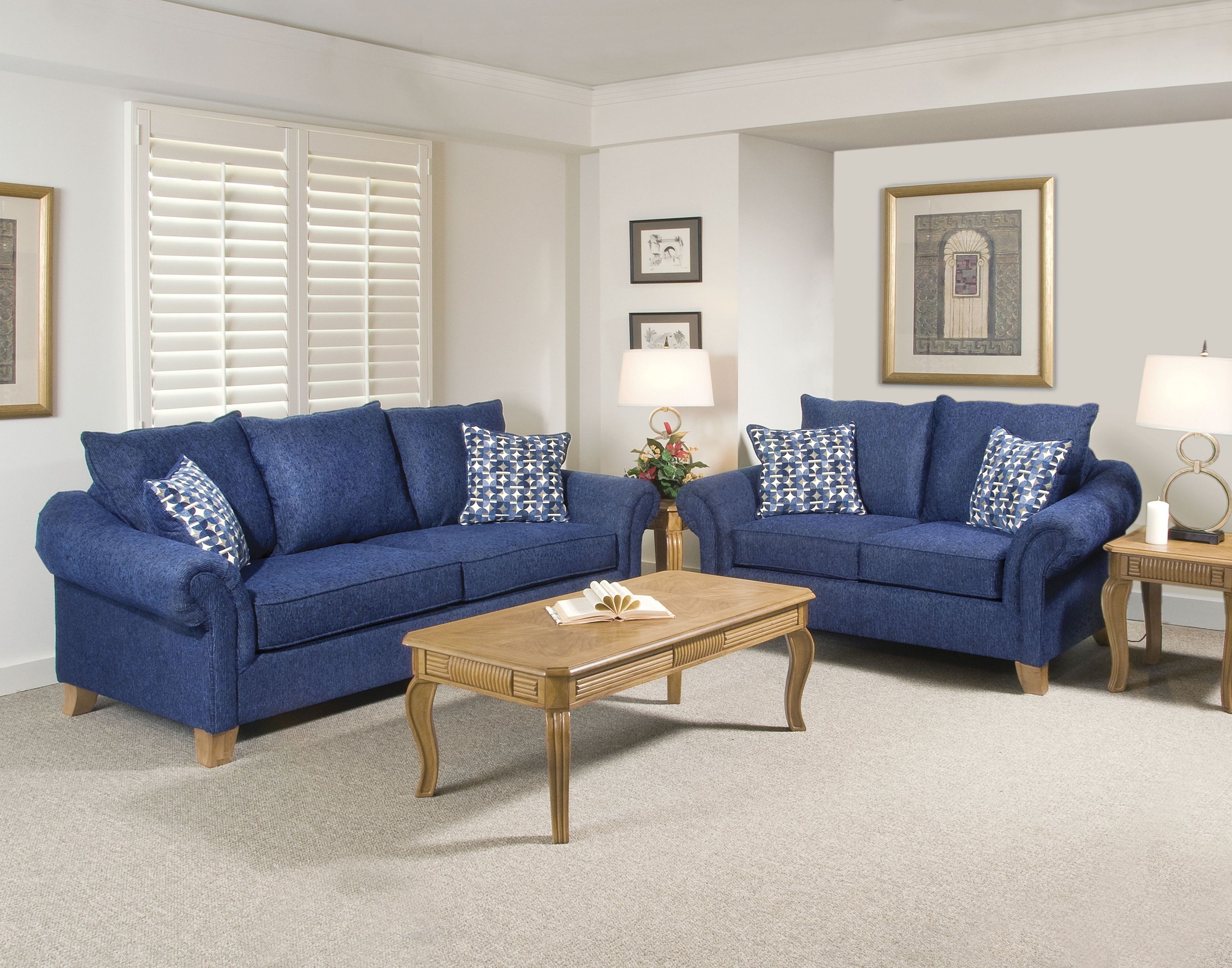 Blue Sofa Chairs In 2019 Navy Blue Sofa Set Cool – Home Ideas (View 3 of 20)