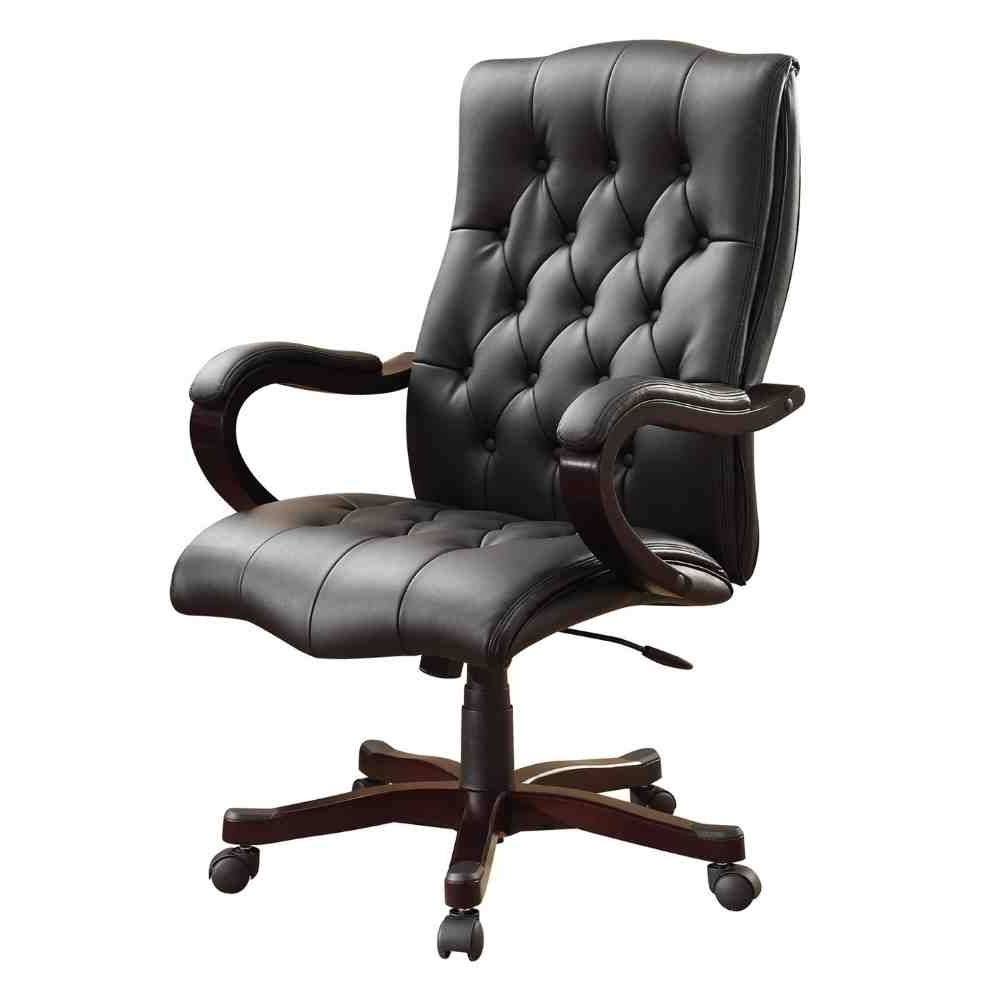 Bonded Leather Office Chair (View 3 of 20)