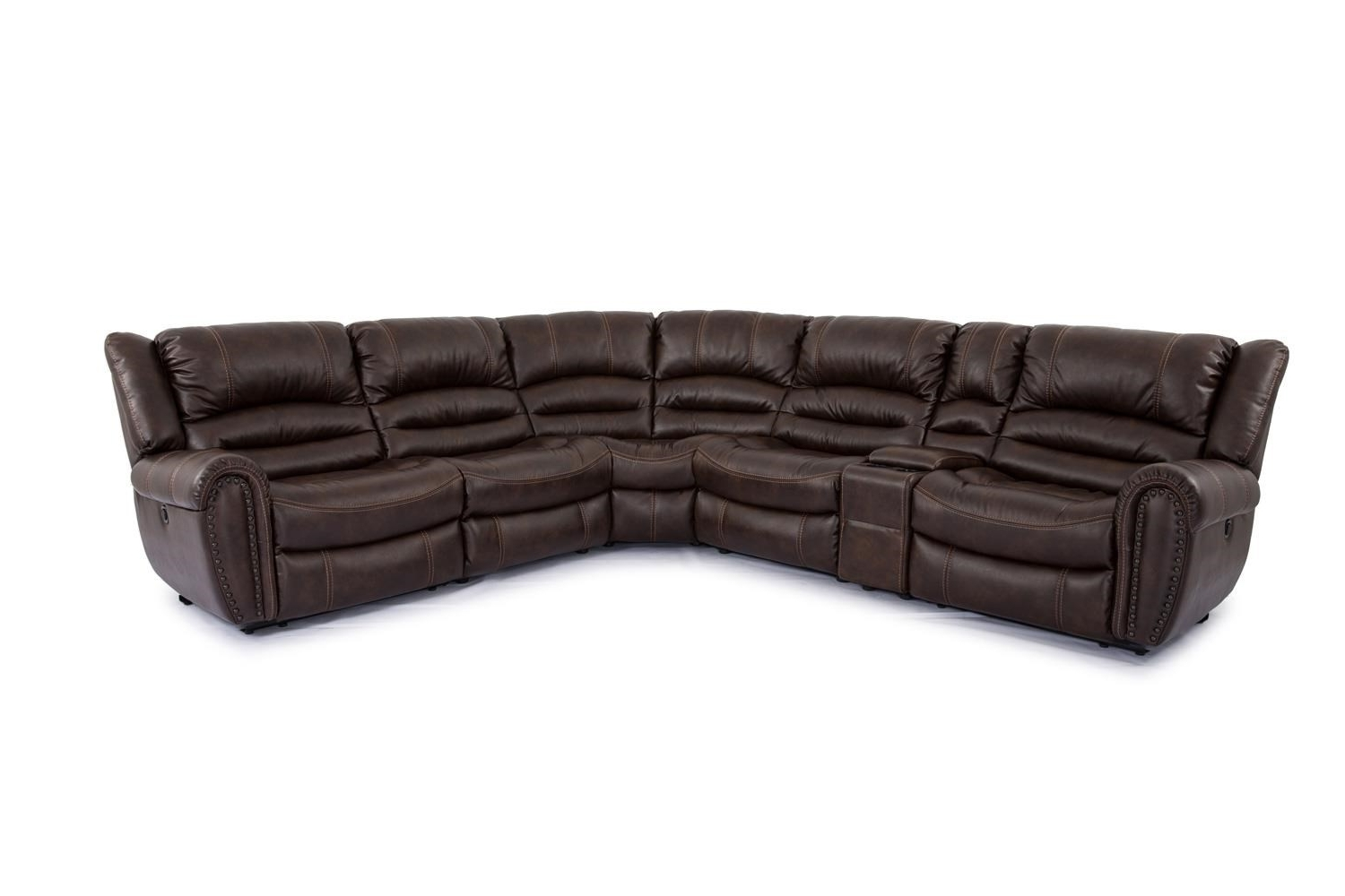 Boulevard Home For Famous 6 Piece Leather Sectional Sofas (View 12 of 20)