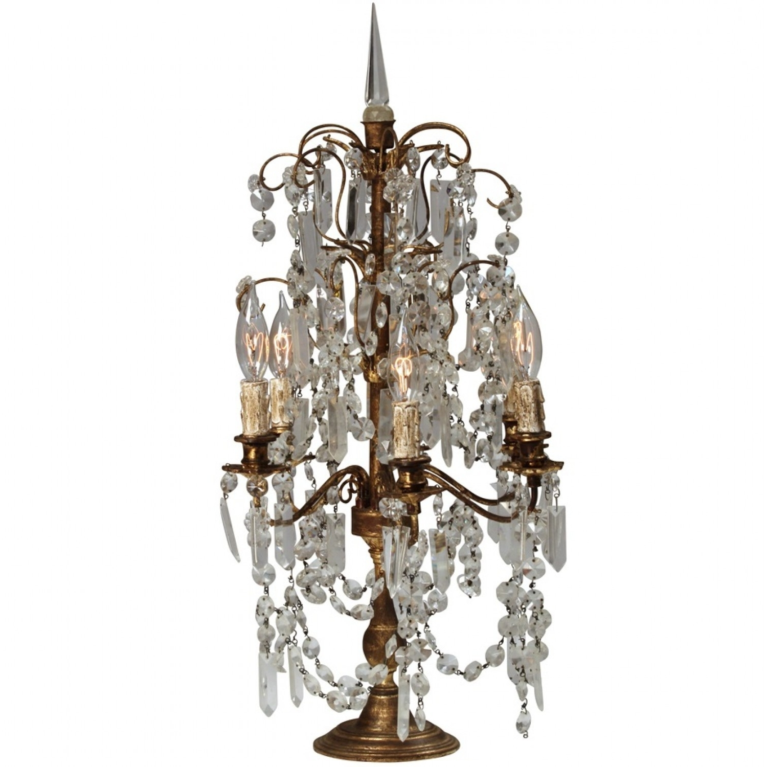 Brilliant Lamps And Chandeliers Home Decor Suggestion Chandelier Throughout Popular Table Chandeliers (View 8 of 20)